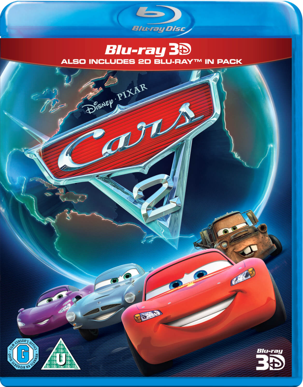 Cars 2 3D (Includes 2D Version)