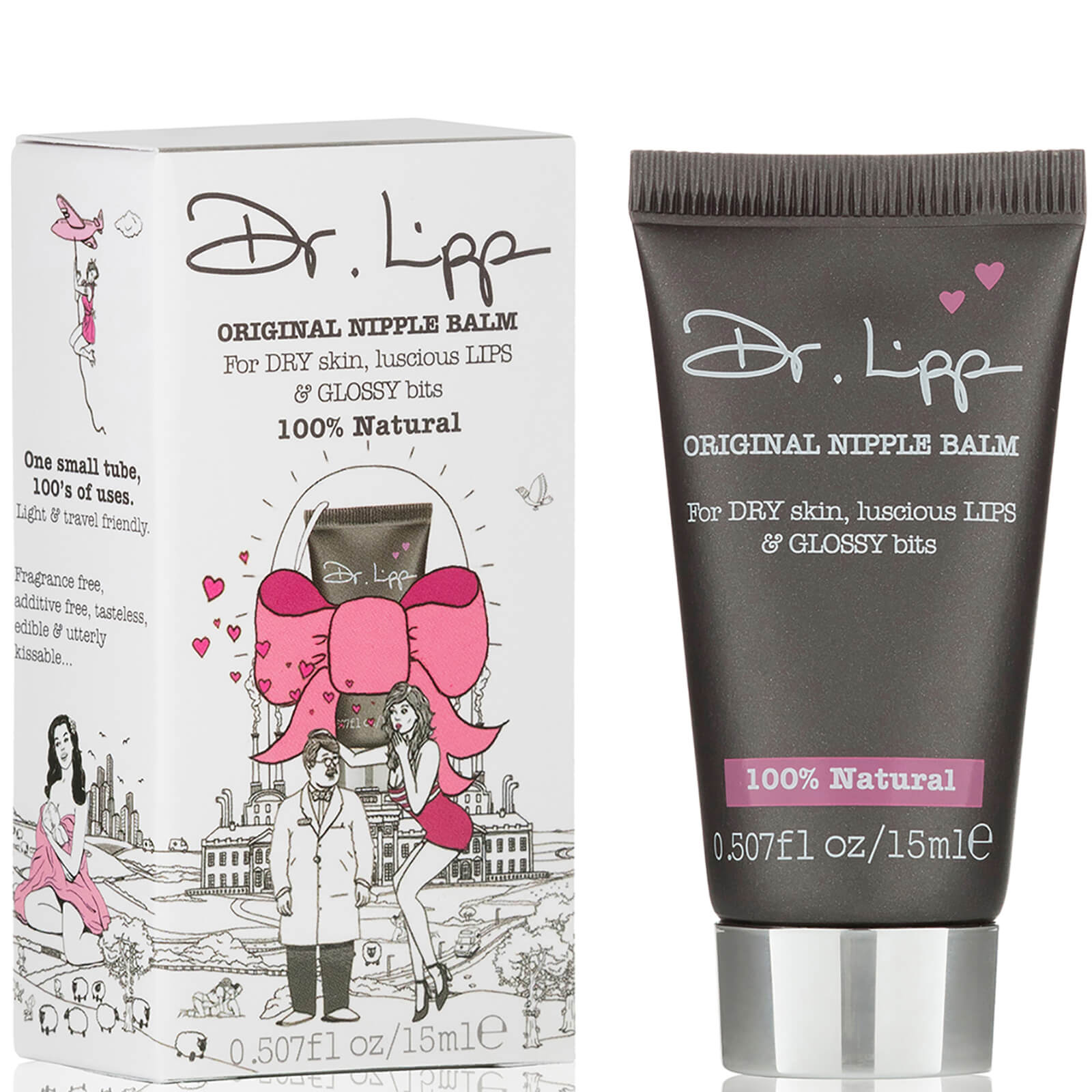Dr Lipps Original Nipple Balm For Lips Free Shipping Lookfantastic Vaseline Lip Therapy Tiny Tube Rosy Description This