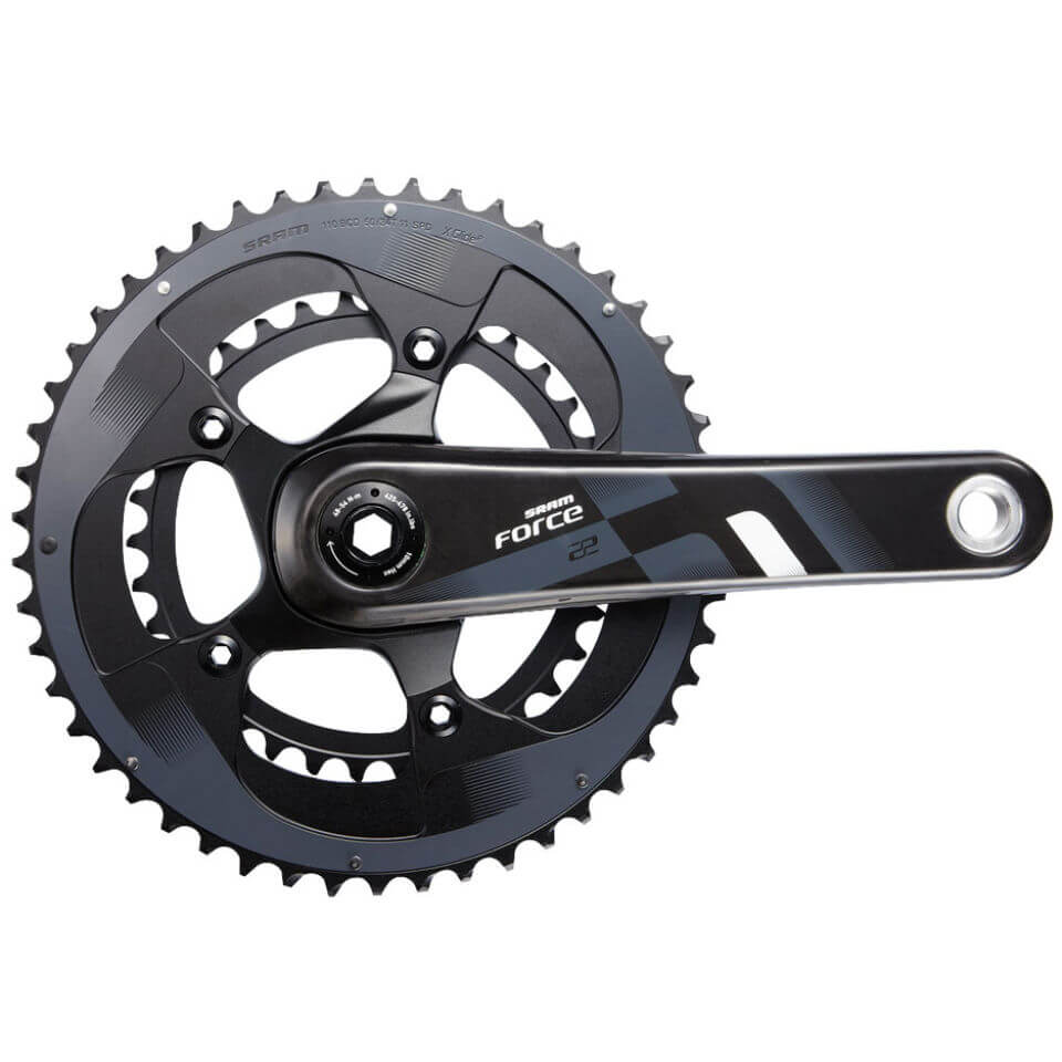 SRAM Force 22 BB30 Chainset - Black
