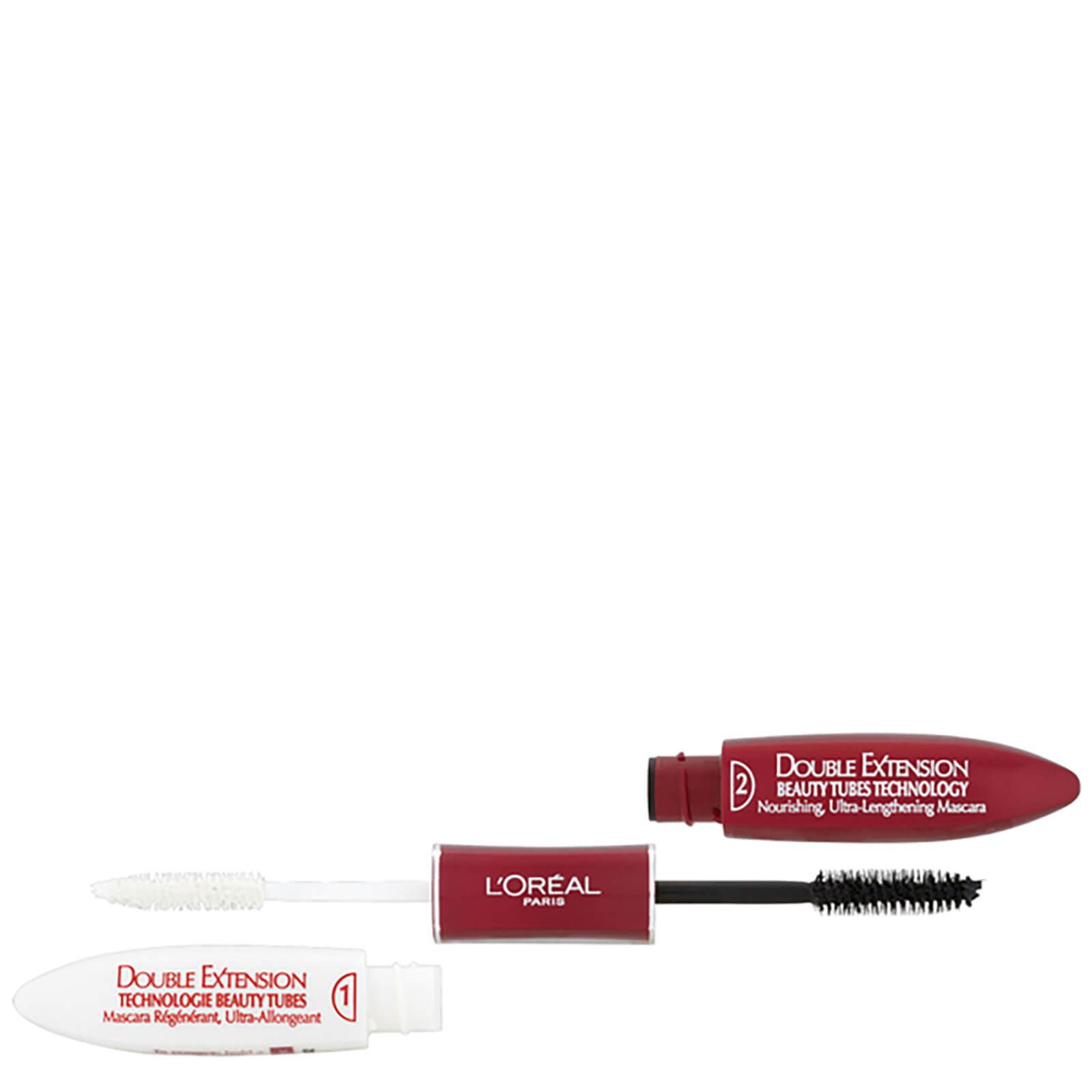 07b5cf50b6d L'Oréal Paris Double Extension Beauty Tube Mascara - Black | Free Shipping  | Lookfantastic