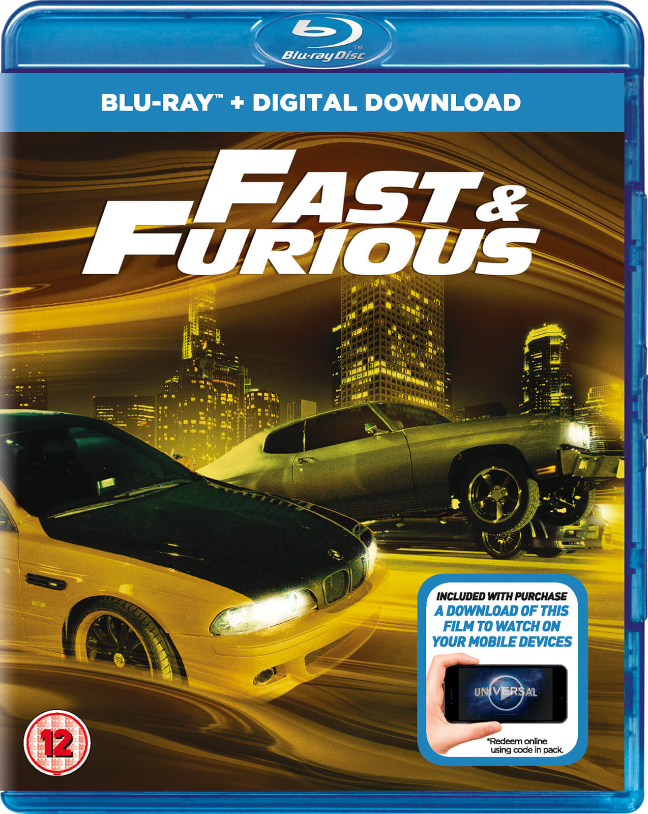 Fast and Furious (Includes UltraViolet Copy) Blu-ray | Zavvi