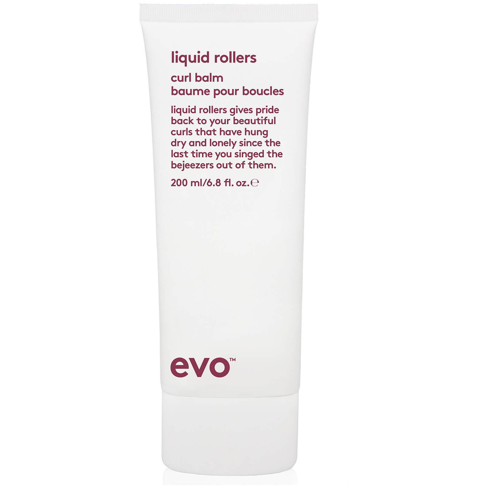 Evo Liquid Rollers Curl Balm 200ml Beautyexpert Sleep Buddy Set Bed Cover Square Cotton Sateen Extra