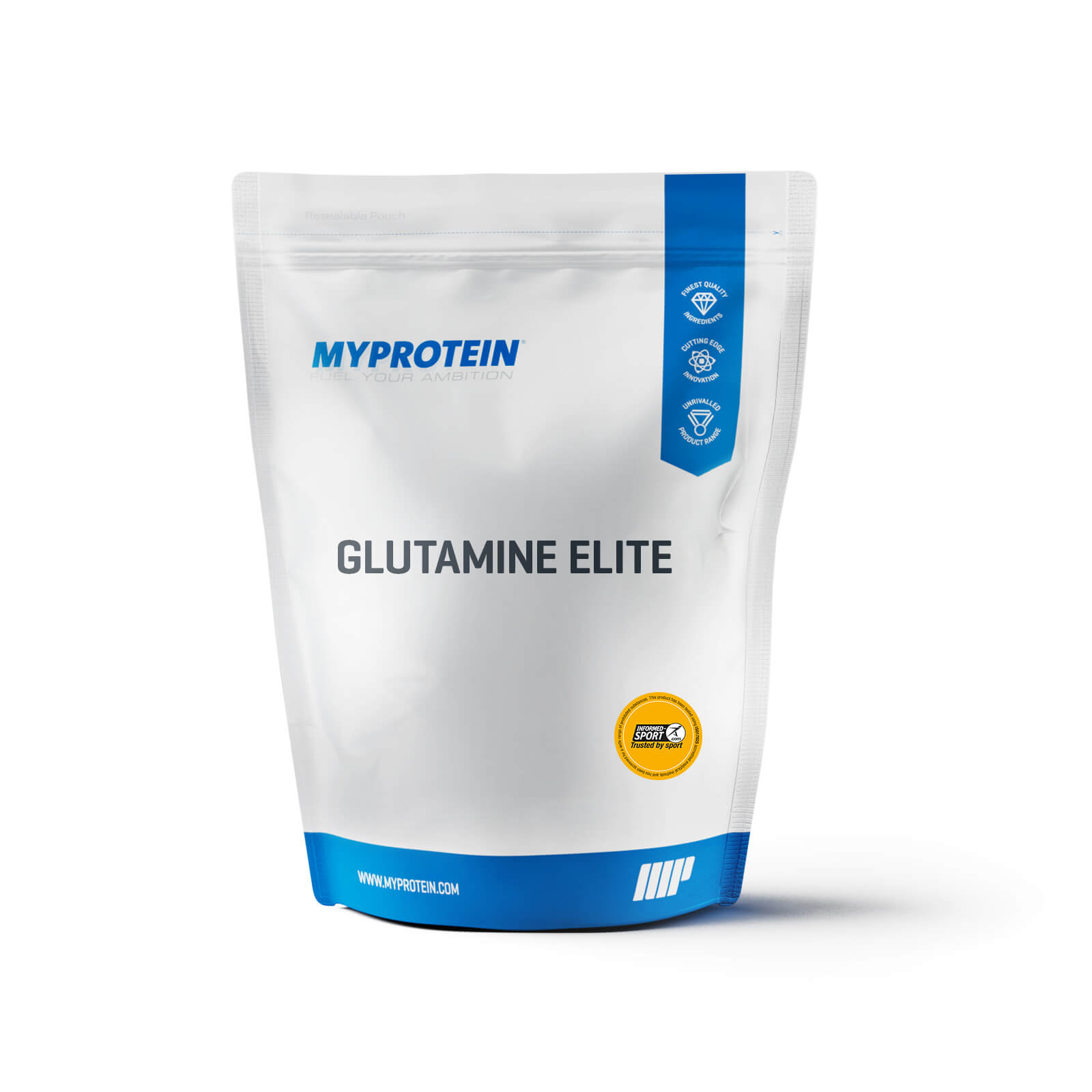 L Glutamine - Batch-Tested Range - Unflavoured - 500g