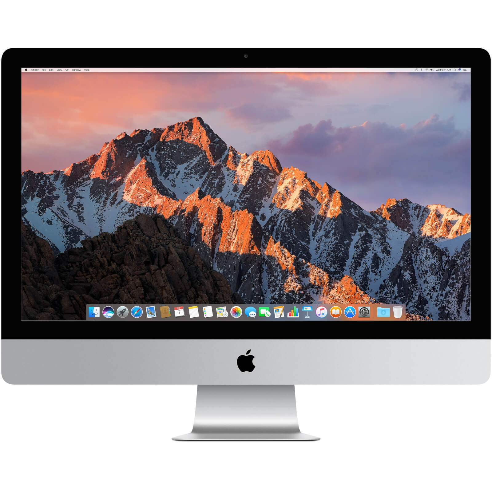 "Apple iMac with Retina 5K display MK462B/A Computer, 3.2GHz Quad-core Intel Core i5, 8GB RAM, 1TB, 27"" Silver"