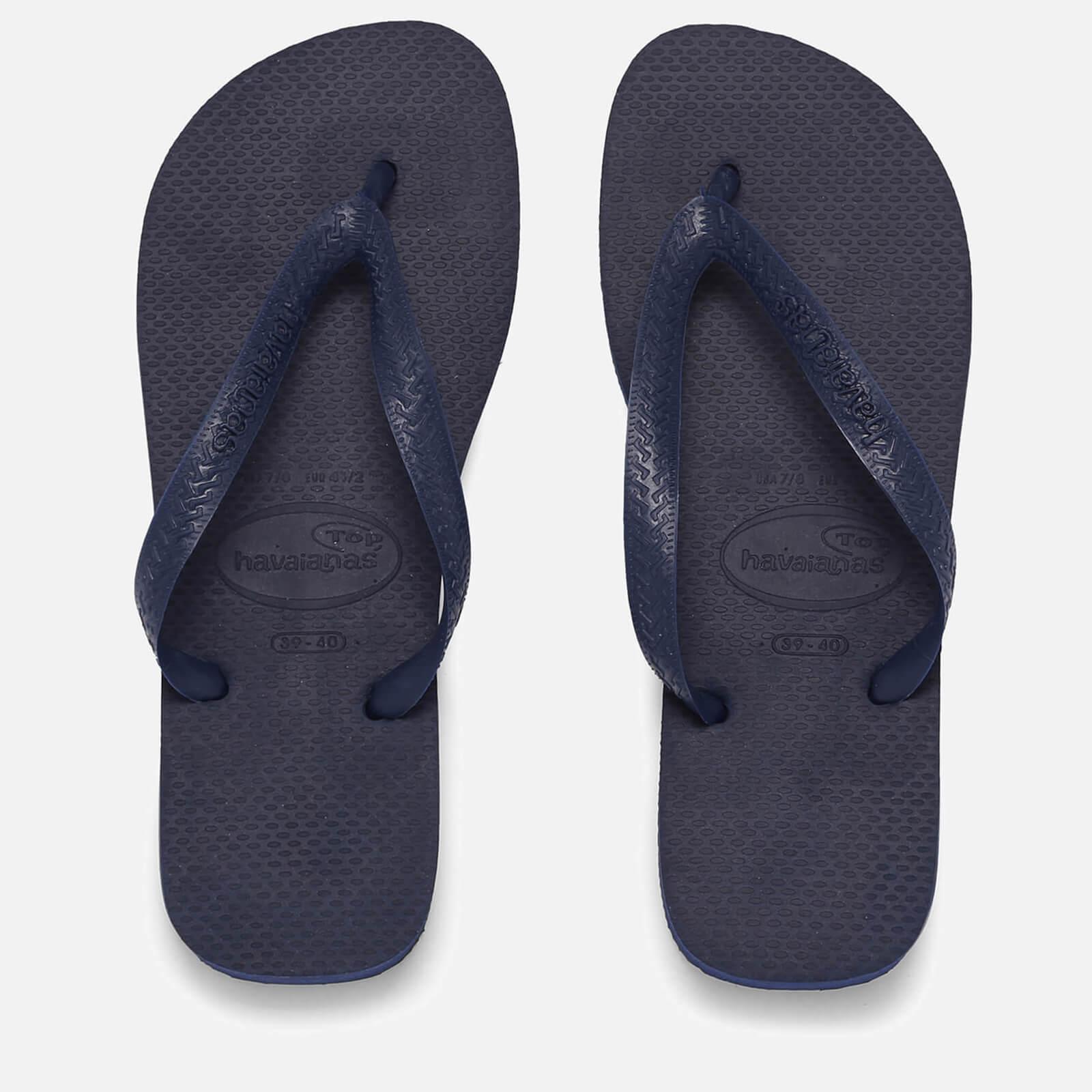 d1bd35e10e3d Havaianas Top Flip Flops - Navy Blue Womens Footwear