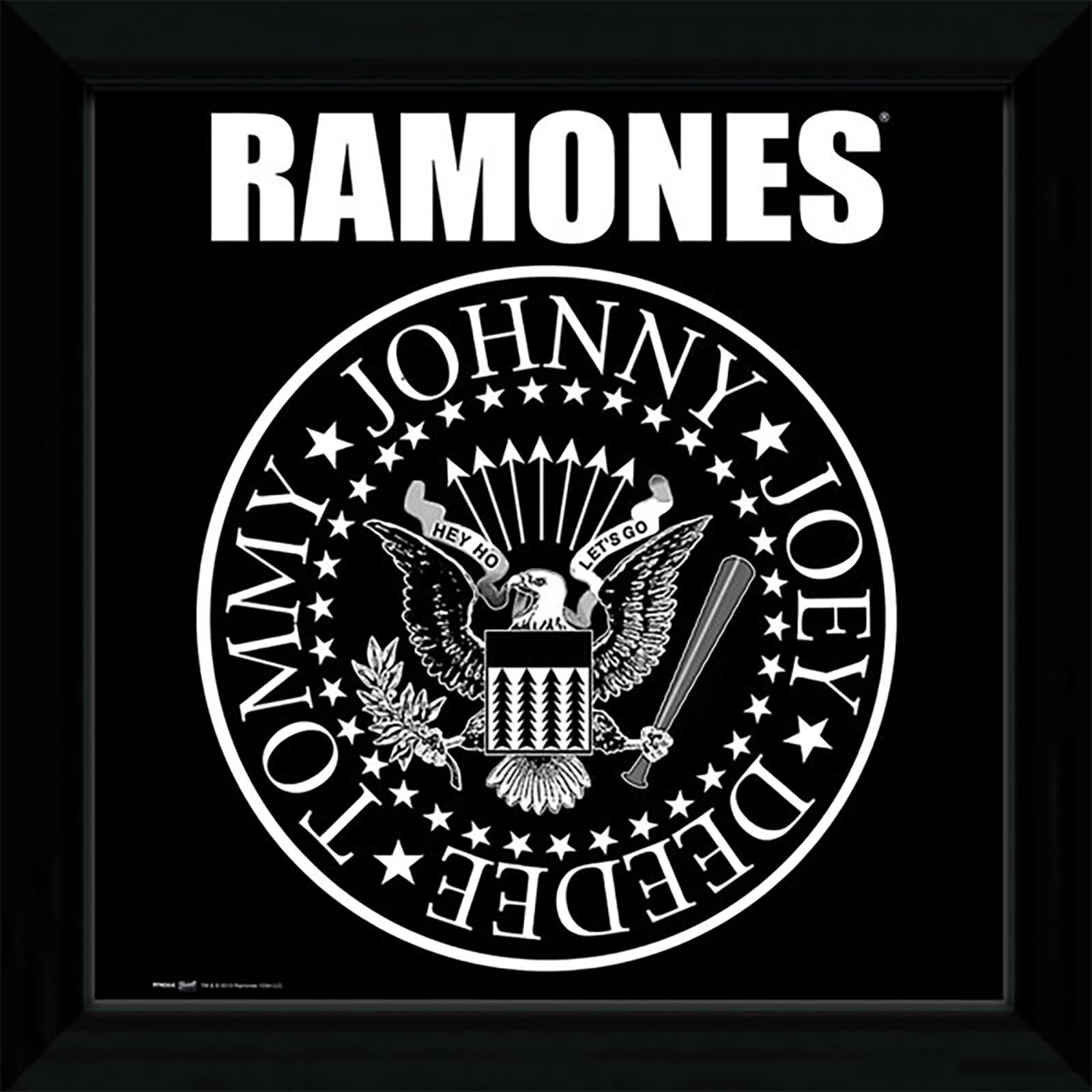 "The Ramones Seal - 12"""" x 12"""" Framed Album Prints"