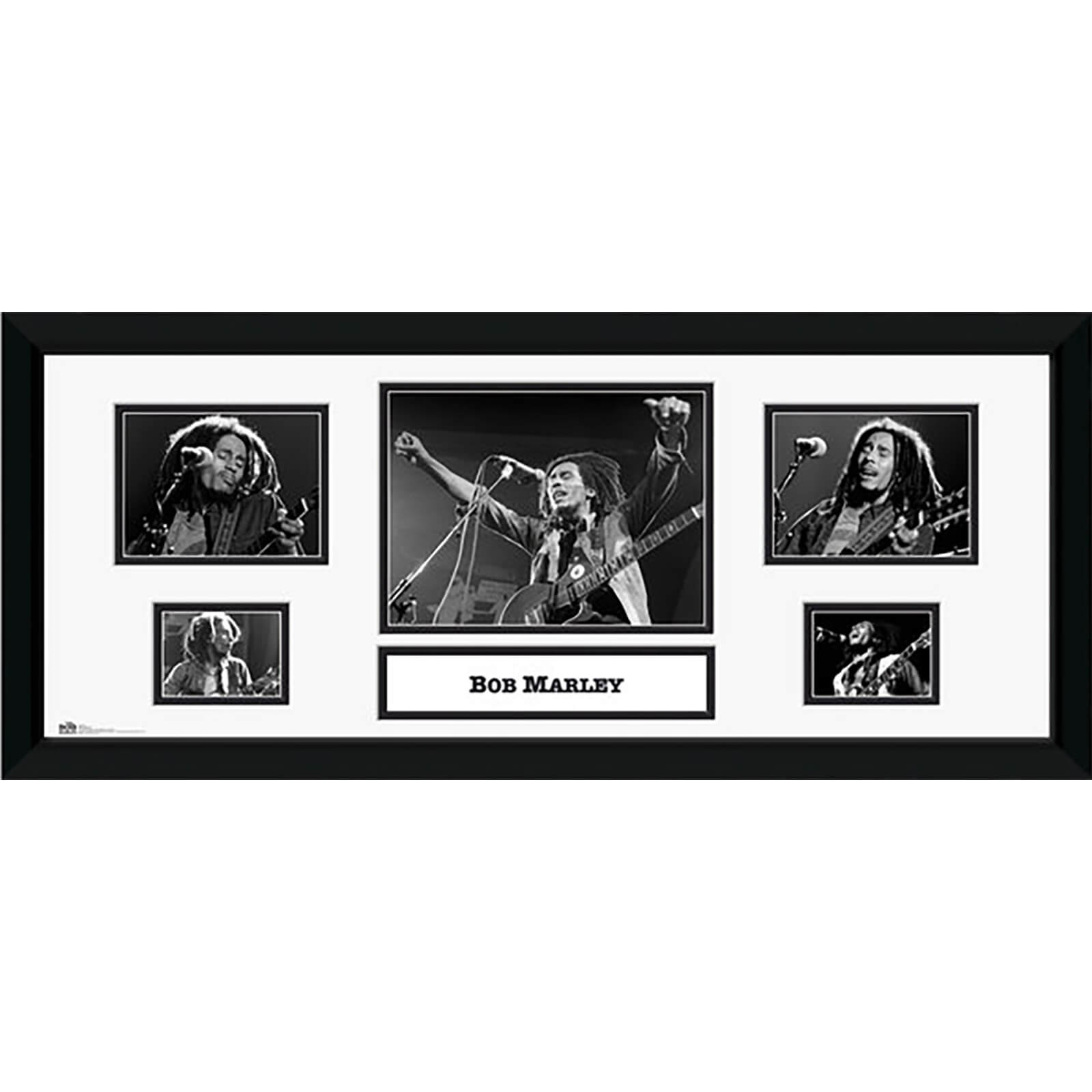 "Bob Marley Storyboard - 30"""" x 12"""" Framed Photographic"
