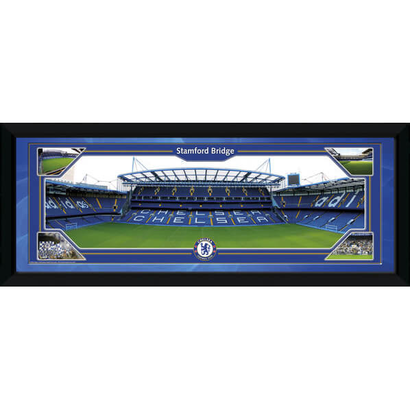 "Chelsea Stamford Bridge - 30"""" x 12"""" Framed Photographic"
