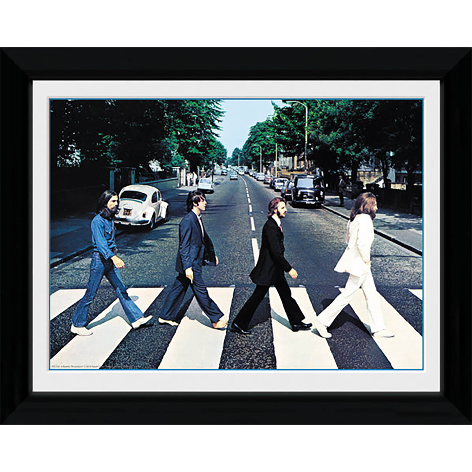 The Beatles Abbey Road - 30 x 40cm Collector Prints