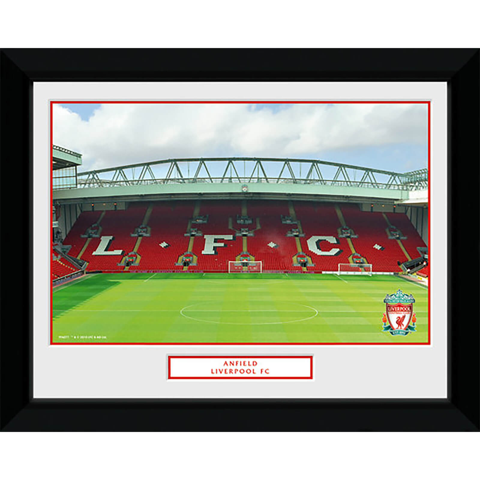 "Liverpool Anfield - 8"""" x 6"""" Framed Photographic"