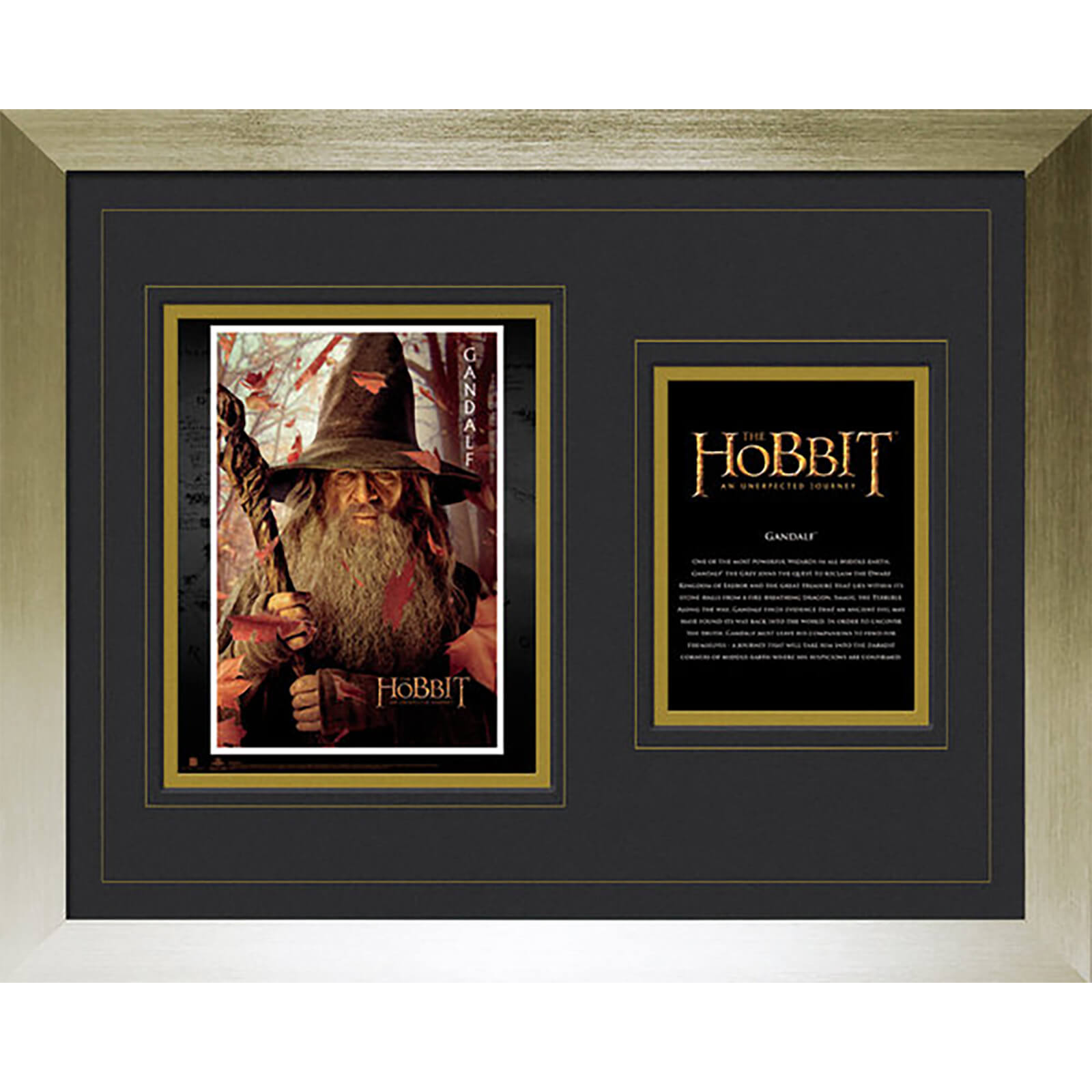 "The Hobbit Gandalf - High End Framed Photo - 16"""" x 20"""