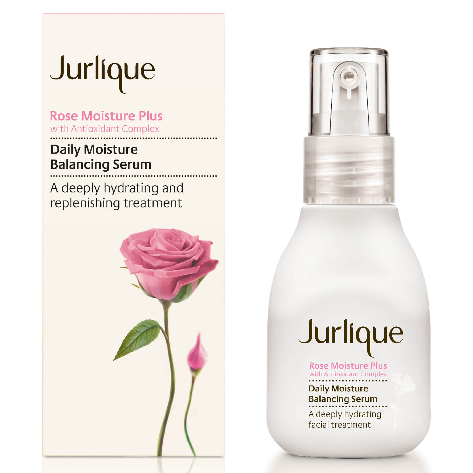 Jurlique Rose Moisture Plus Moisture Restoring Serum (1 oz)
