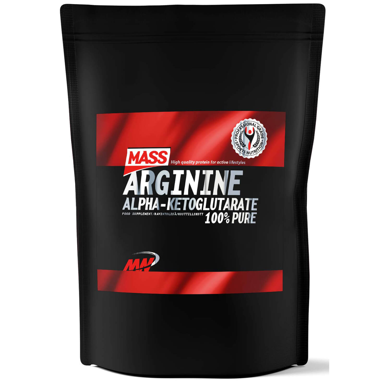 Mass Arginine, Unflavoured, 500g