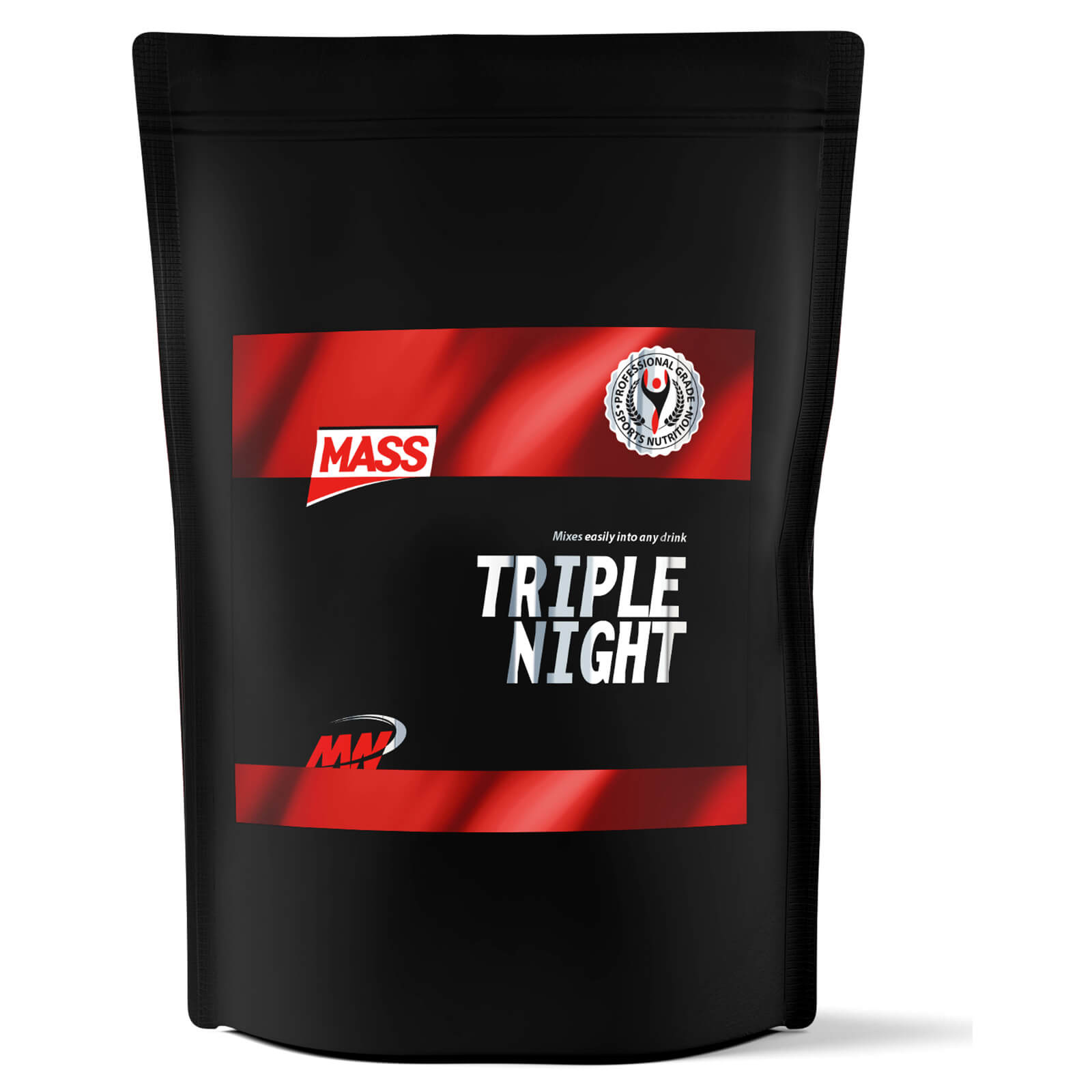 MASS Triple Night - Unflavoured, 4kg