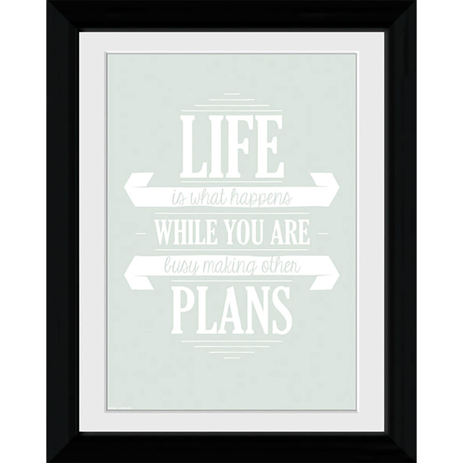 Life Plans - Collector Print - 30 x 40cm