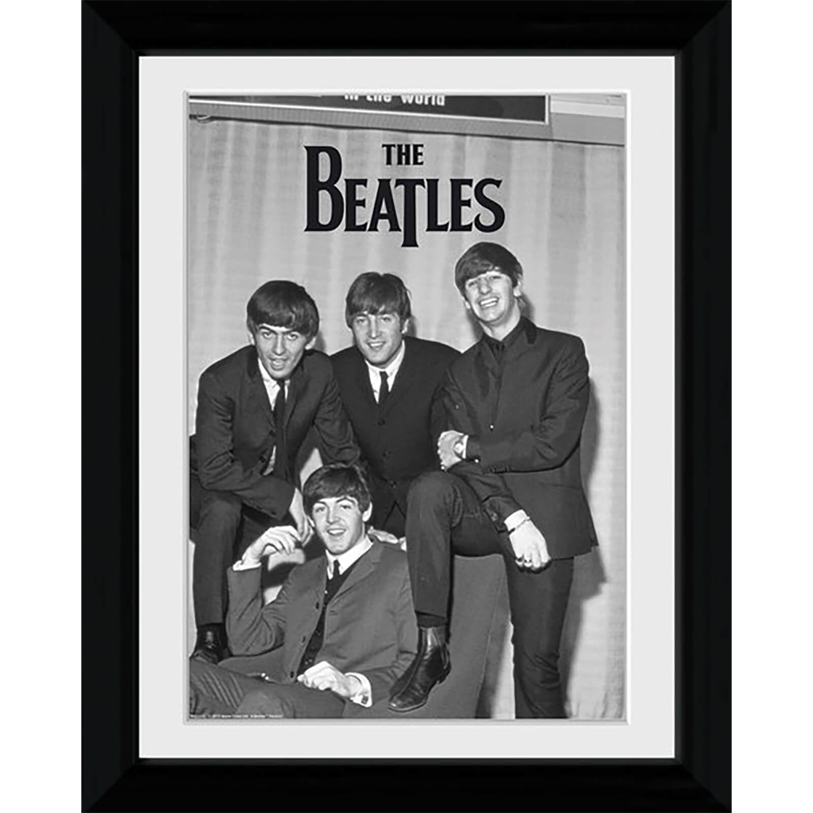 The Beatles Chair - Collector Print - 30 x 40cm