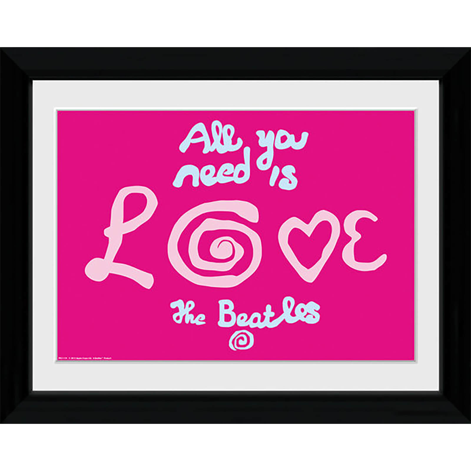 The Beatles All You Need Is Love - Collector Print - 30 x 40cm