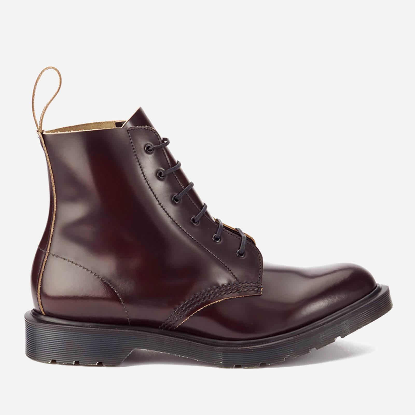 cb5f5a9b8da Dr. Martens Men's 'Made in England' Arthur Leather 6-Eye Boots - Merlot  Boanil Brush