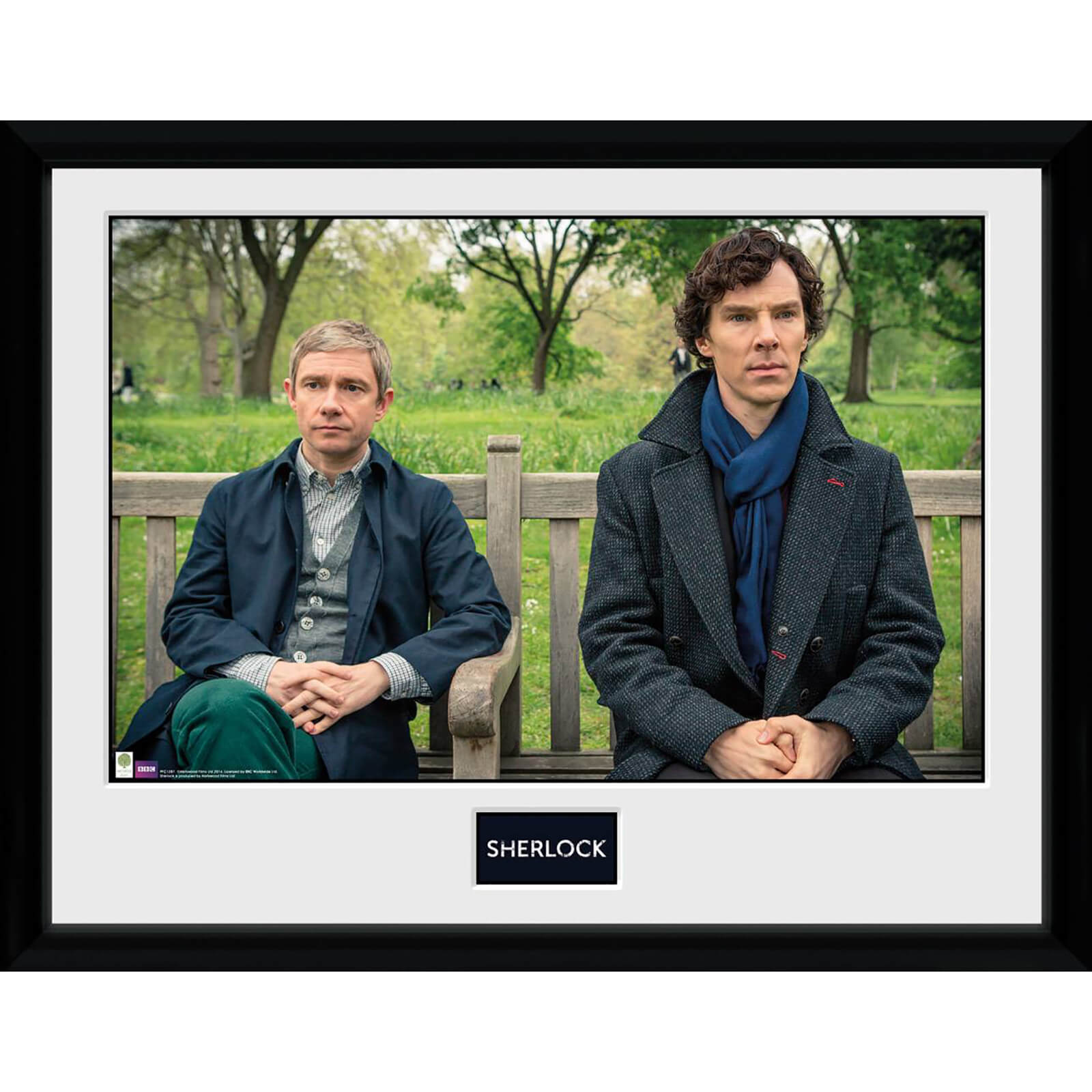Sherlock Park Bench - 30 x 40cm Collector Print