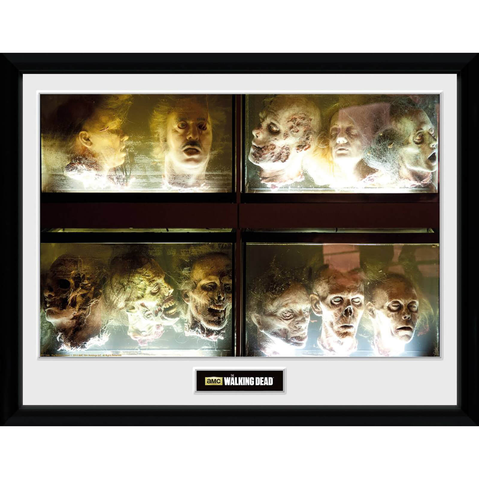 The Walking Dead In A Pickle - 30 x 40cm Collector Print