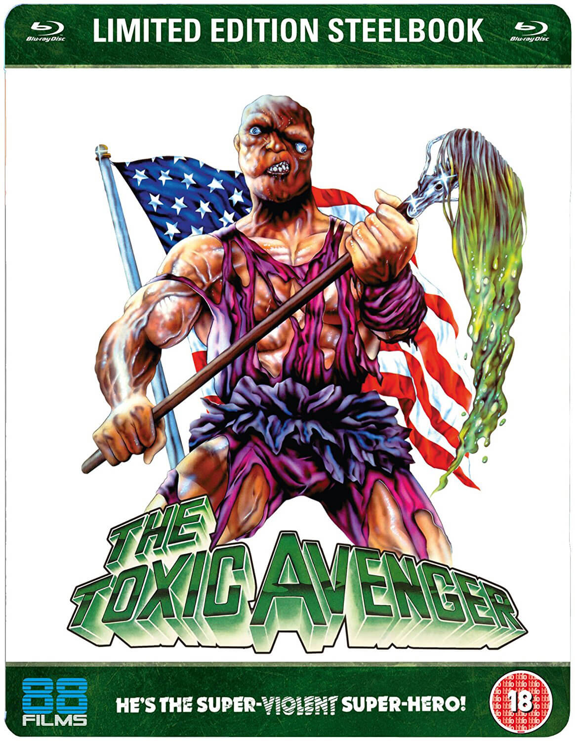 The Toxic Avenger Zavvi Exclusive Limited Edition
