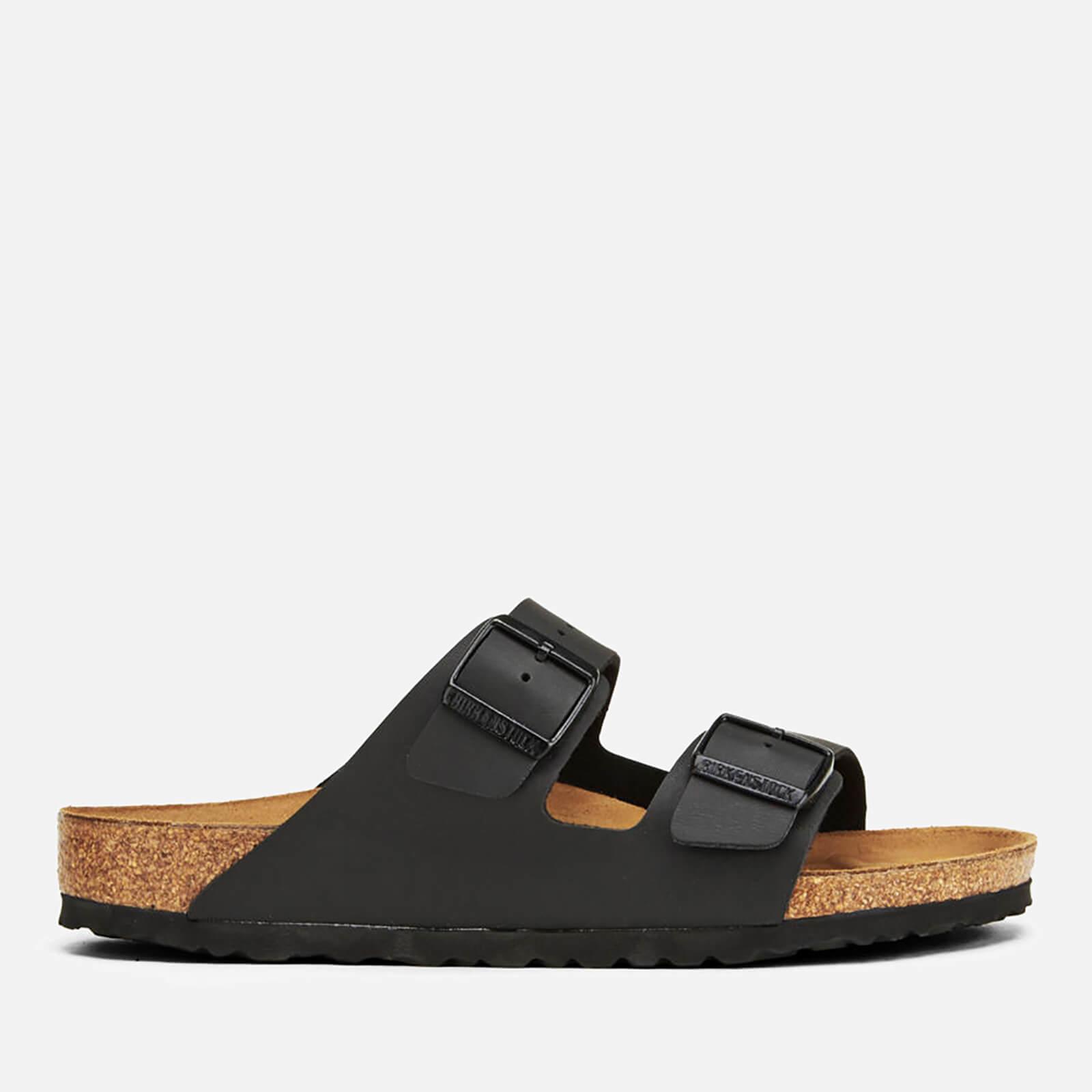 e6ff3de785f4 Birkenstock Men s Arizona Double Strap Sandals - Black Mens Footwear ...