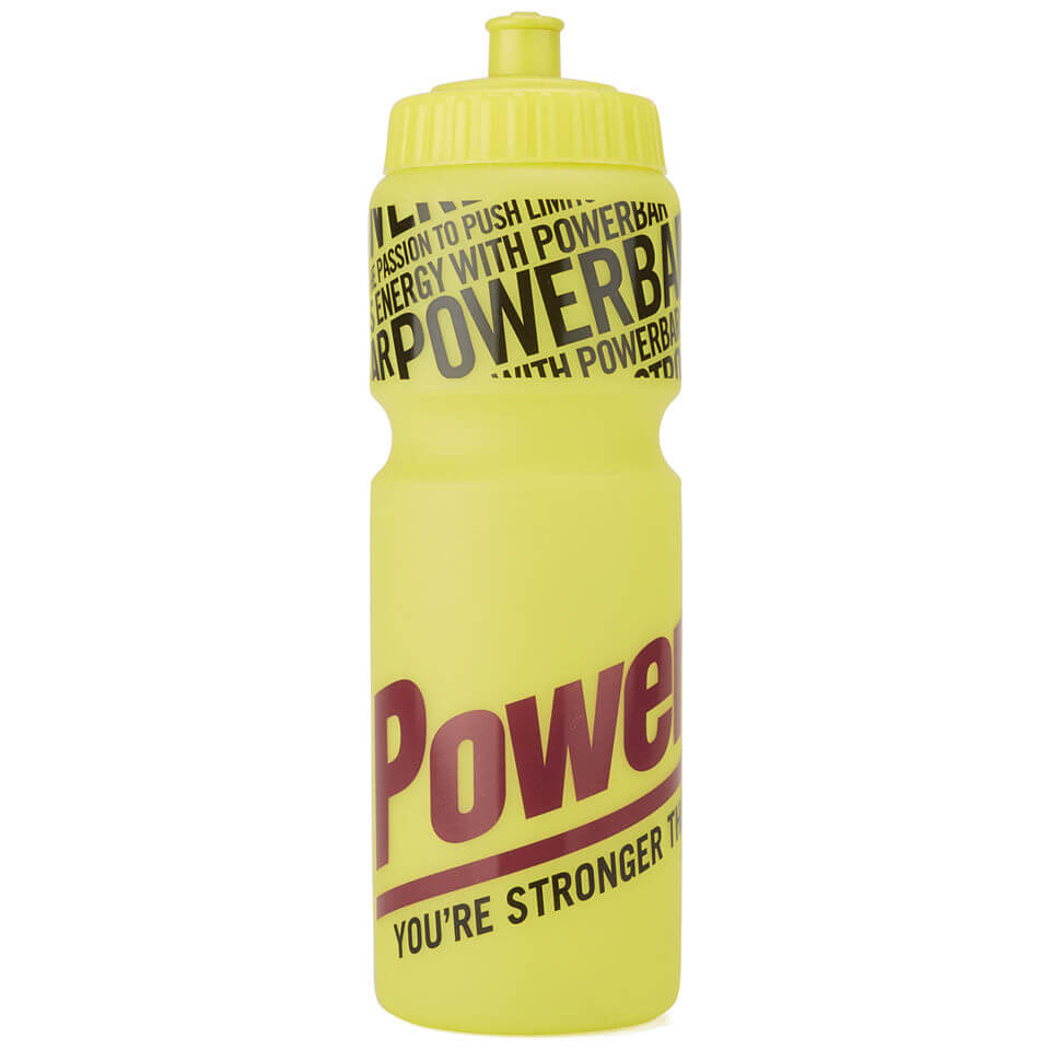Powerbar Cycling Water Bottle - Yellow - 750ml