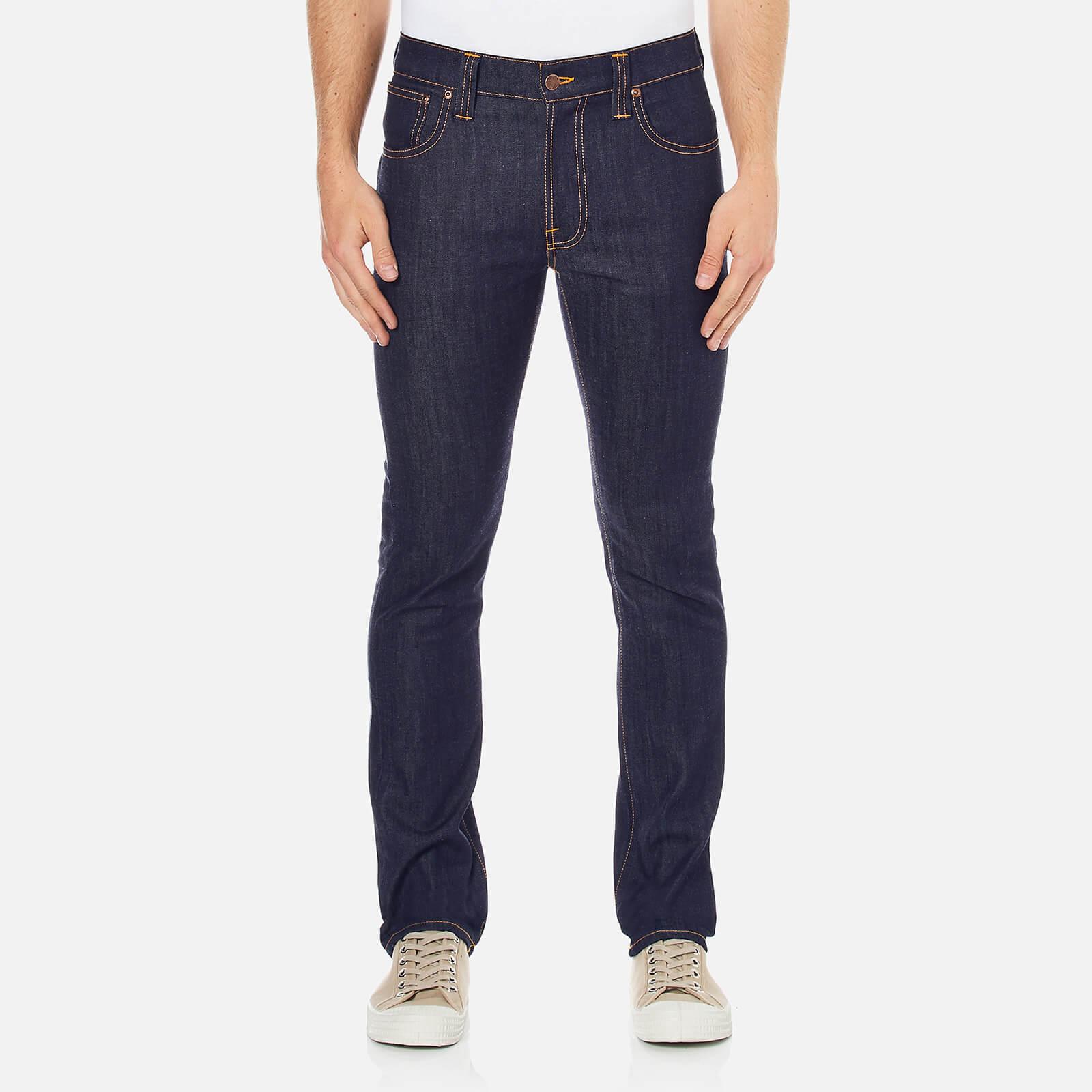 238d5a16c26a Nudie Jeans Men s Thin Finn Skinny Jeans - Dry Ecru Embo - Free UK ...