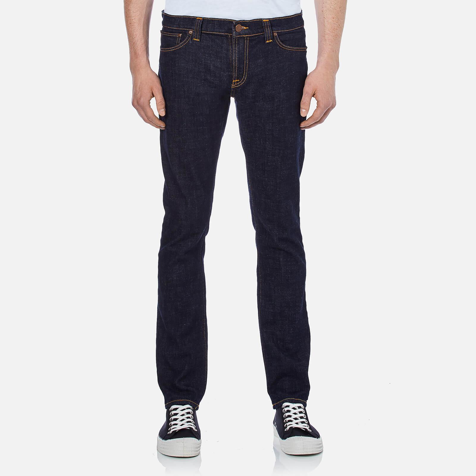 ad9525fbf3b2 Nudie Jeans Men s Long John Skinny Jeans - Twill Rinsed - Free UK ...