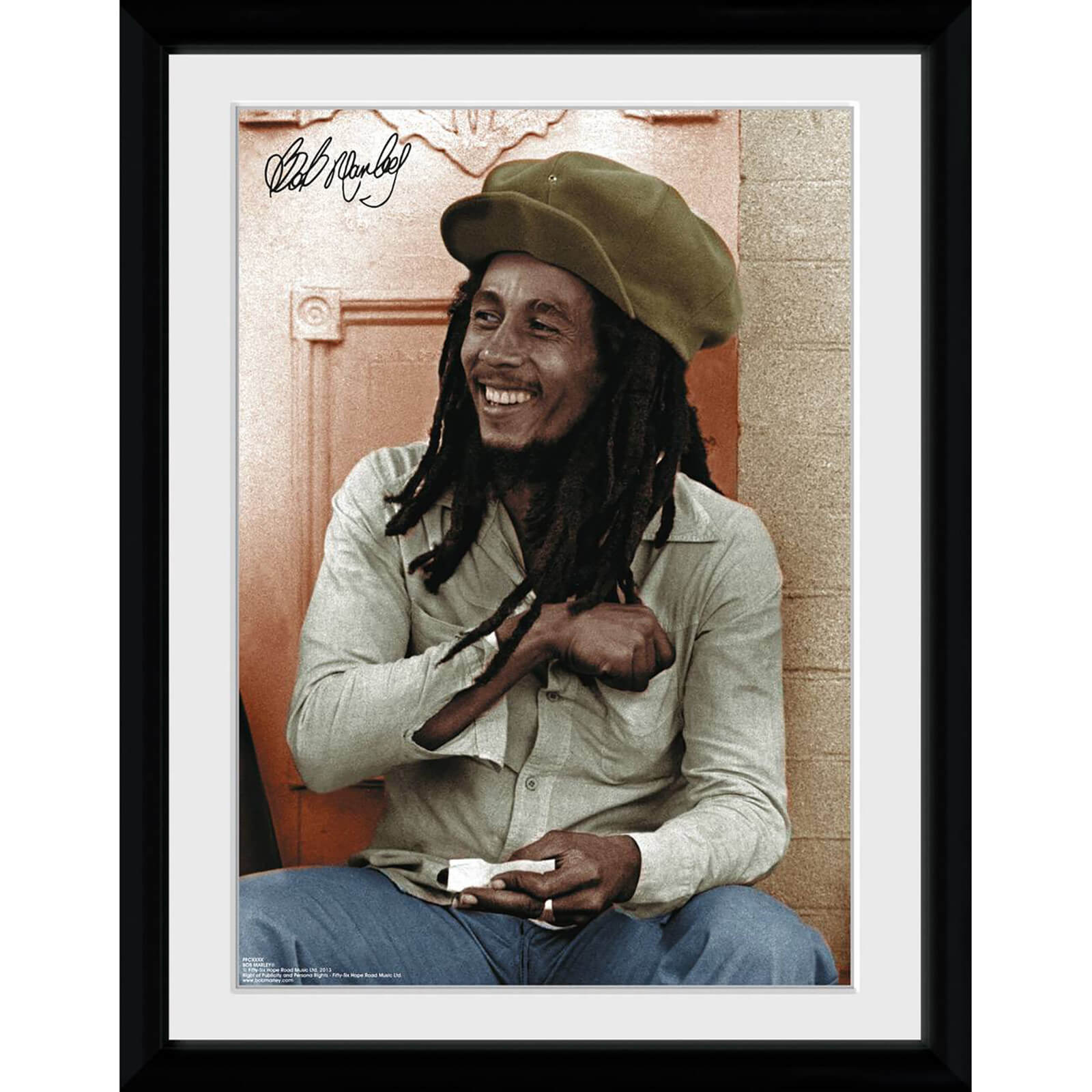 Bob Marley Rolling - 30x40 Collector Prints