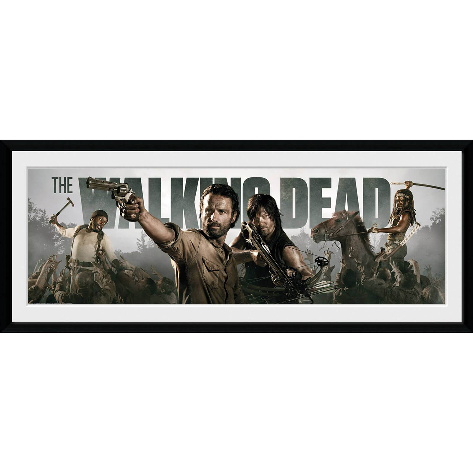 The Walking Dead Survival - 30x75 Collector Prints