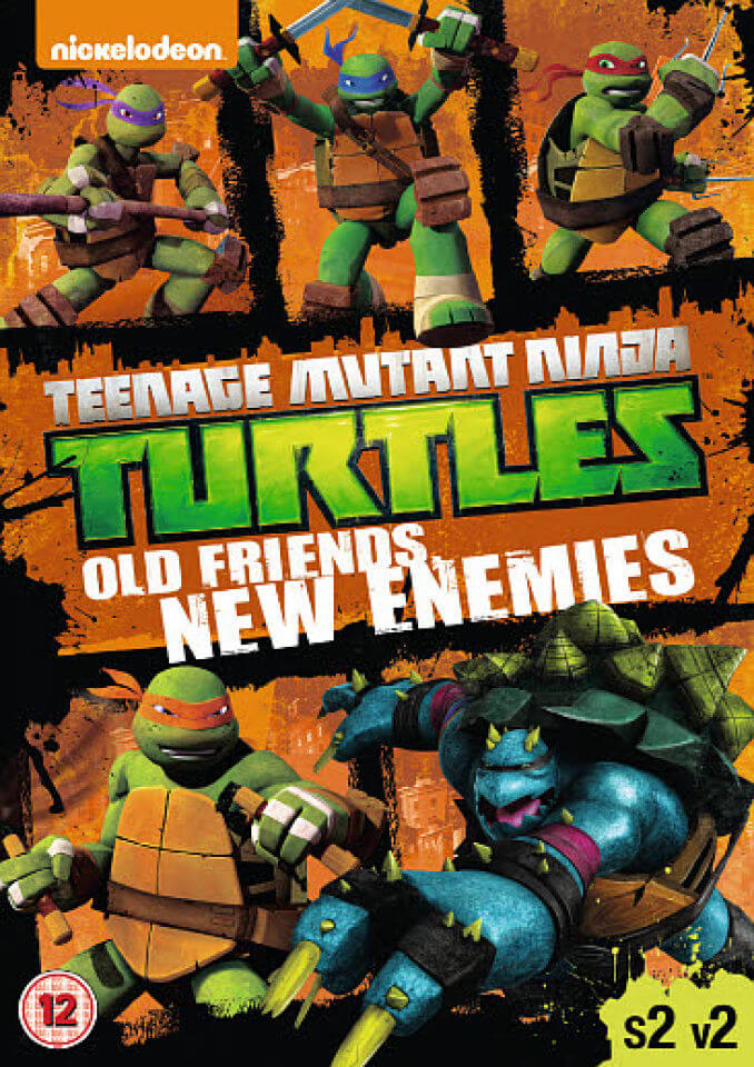 teenage mutant ninja turtles   collection dvd zavvi