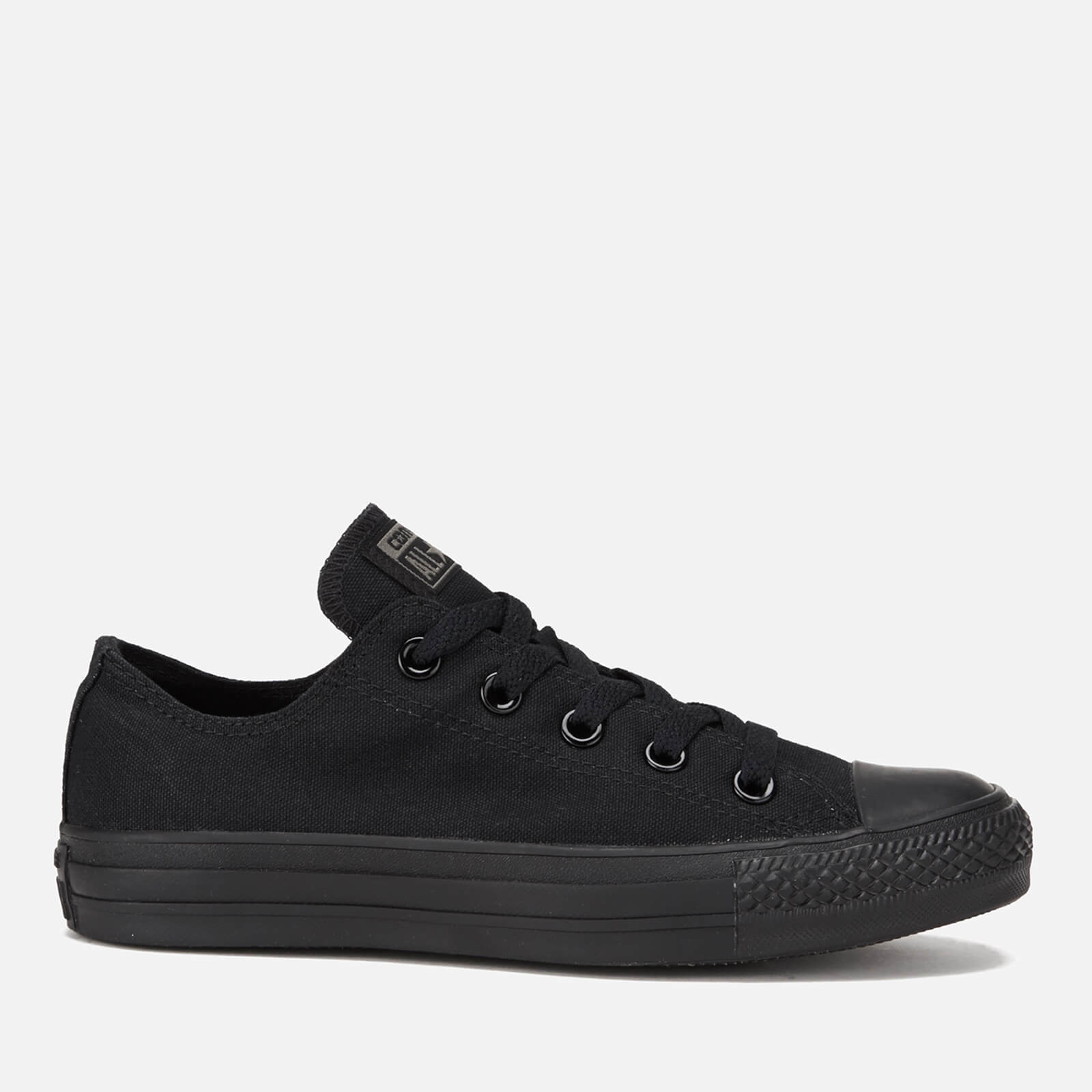 99d270d9b10c Converse Chuck Taylor All Star Ox Canvas Trainers - Black Monochrome ...