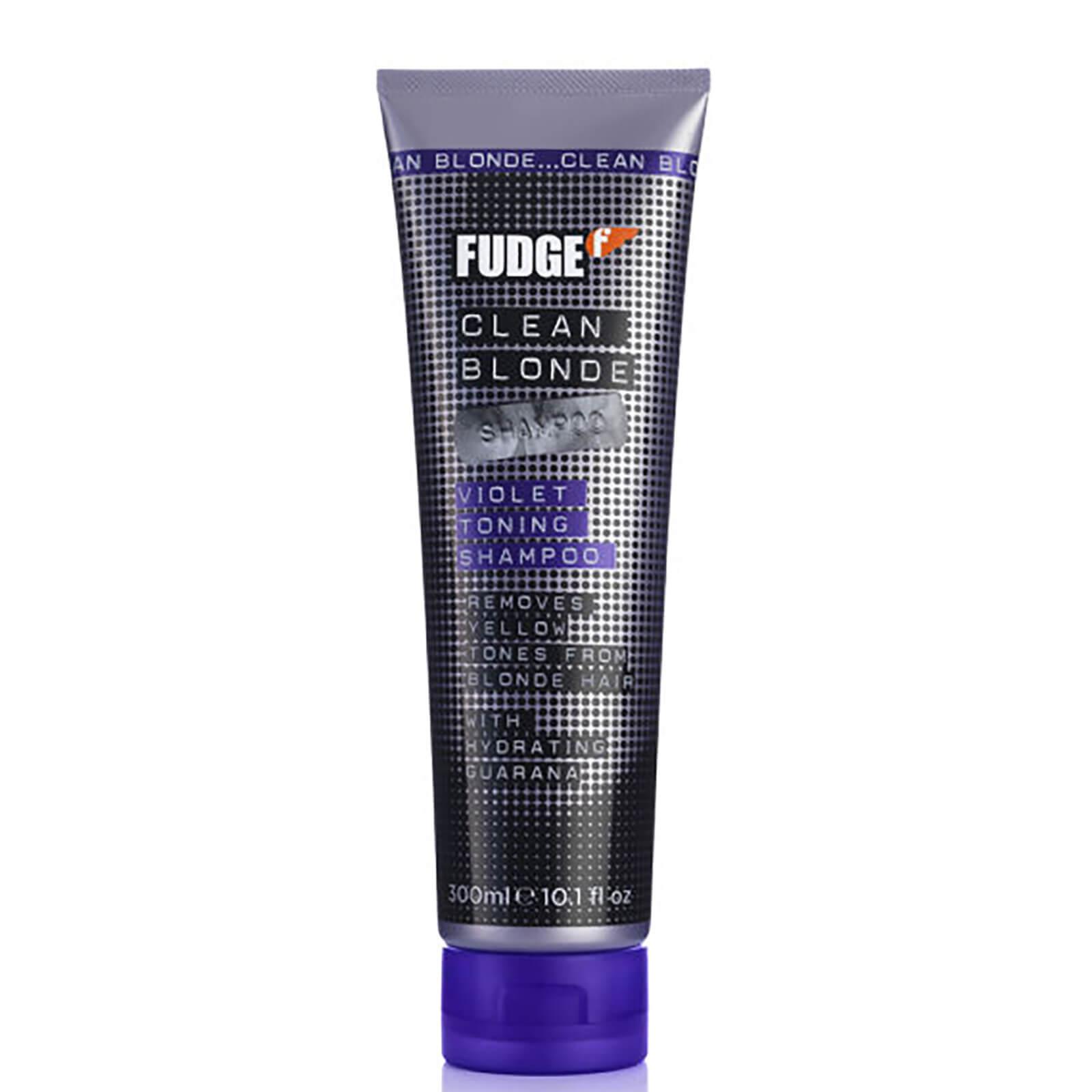 Fudge300ml Clean Shampoo Violet Blonde De m8nOwPyvN0