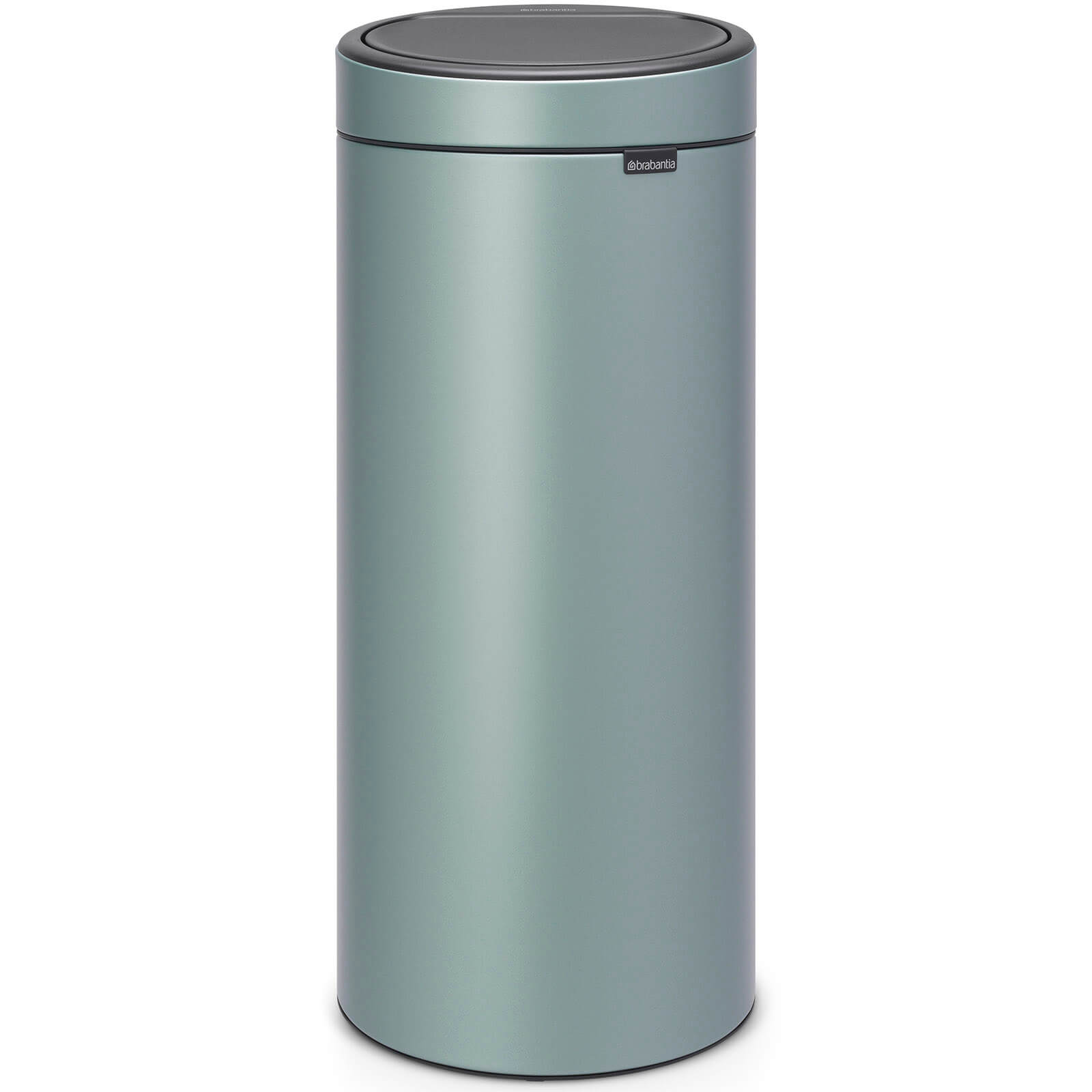 Brabantia Touch Bin 50 Liter Wit.Brabantia 30 Litre Touch Bin Metallic Mint
