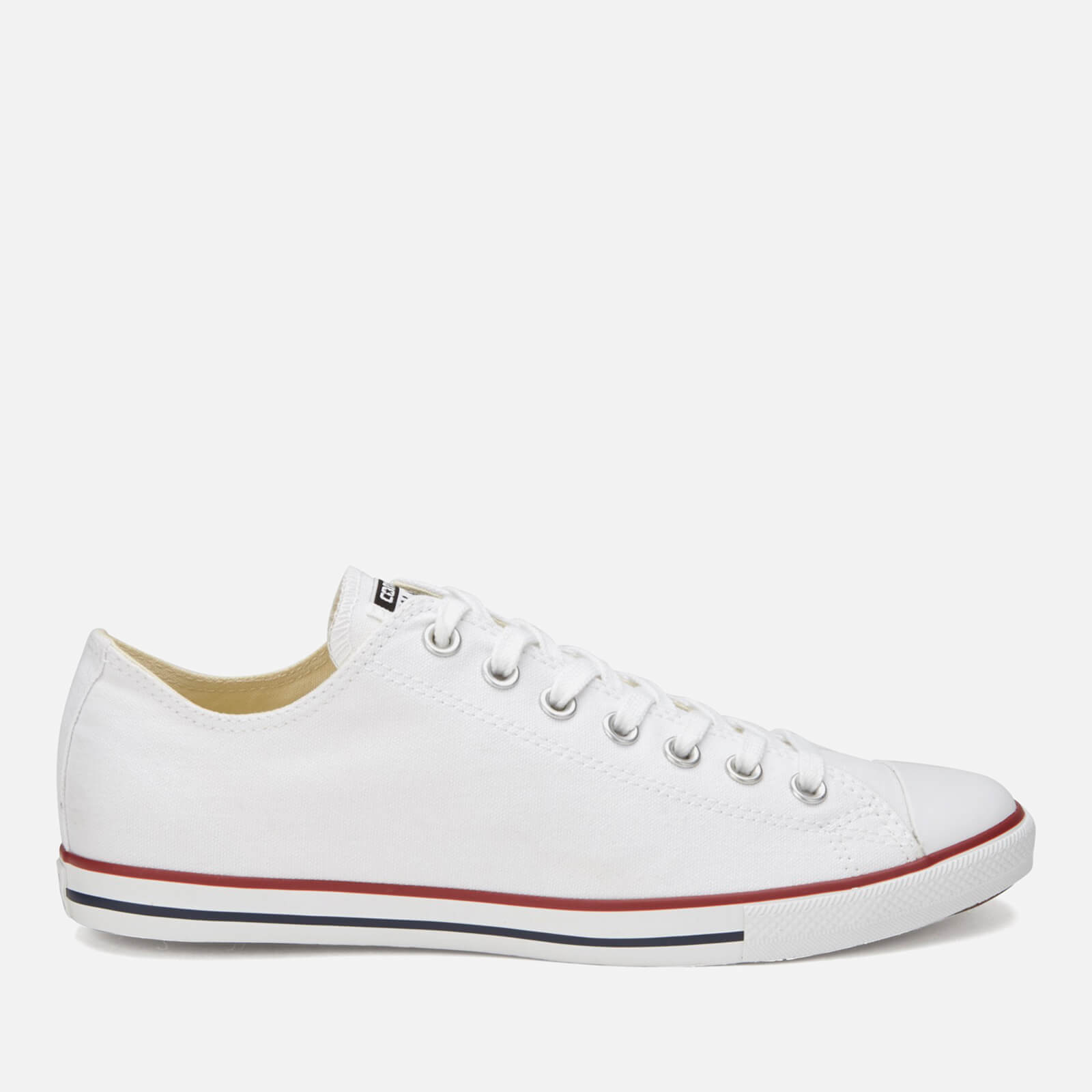 77faa4a407b Converse Men's Chuck Taylor Alll Star Lean OX Trainers - White - Free UK  Delivery over £50