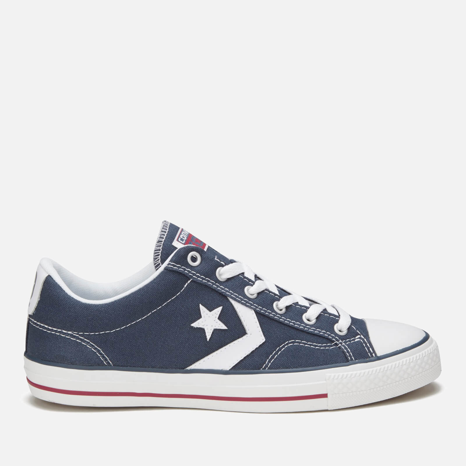 ba2577bdfdd2 Converse Men s Cons Star Player Canvas Trainers - Navy White Mens Footwear