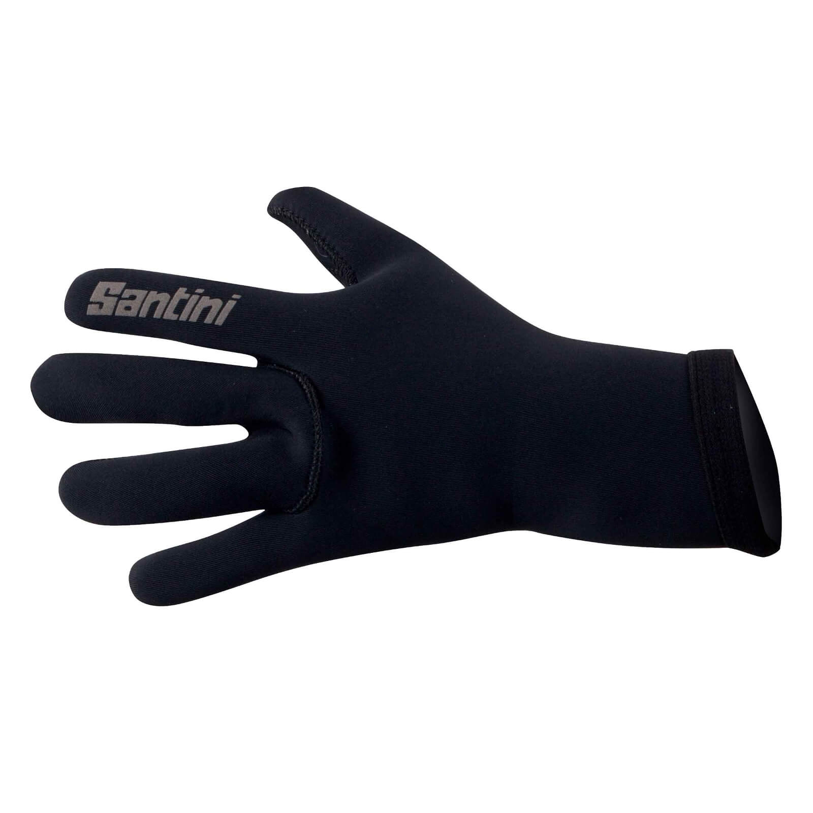Santini Blast Neoprene Winter Gloves - Black