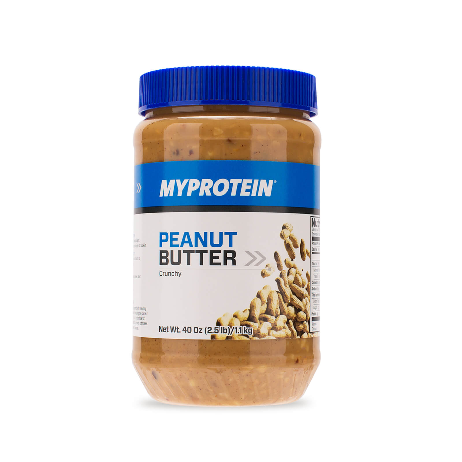 Peanut Butter, 40oz, Crunchy, Unflavored (USA)
