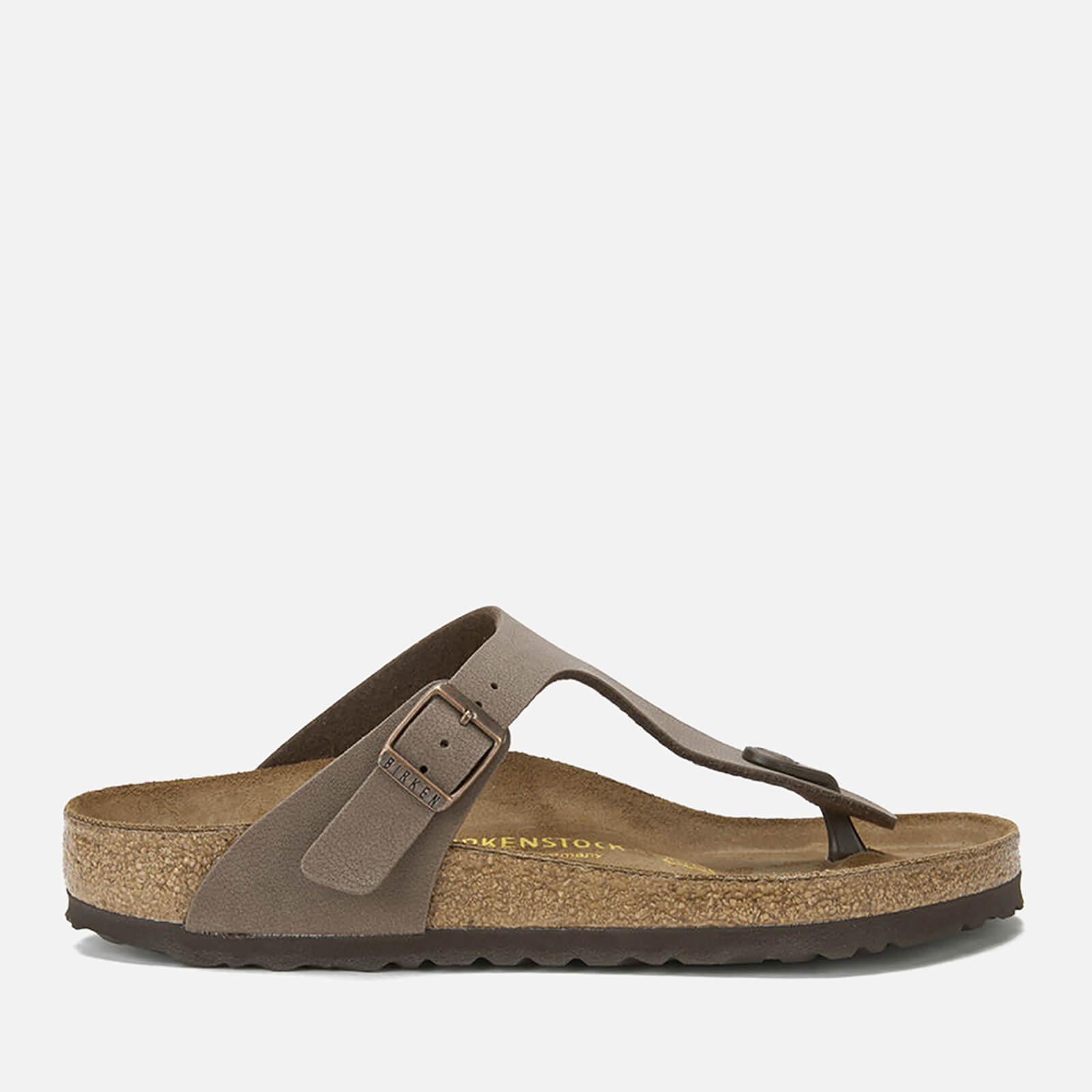 Birkenstock Women's Gizeh Toe-Post Leather Sandals - Mocha - EU 37/UK 4.5