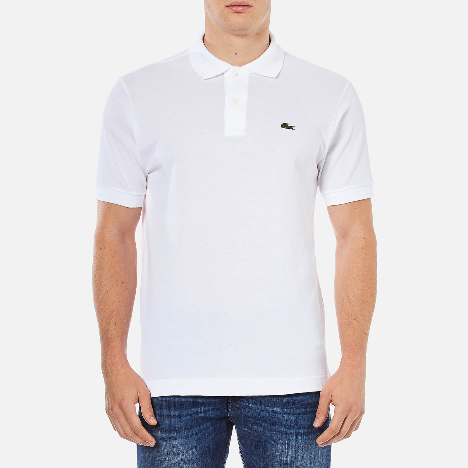 141a24edb Lacoste Men s Classic Fit Pique Polo Shirt - White - Free UK Delivery over  £50