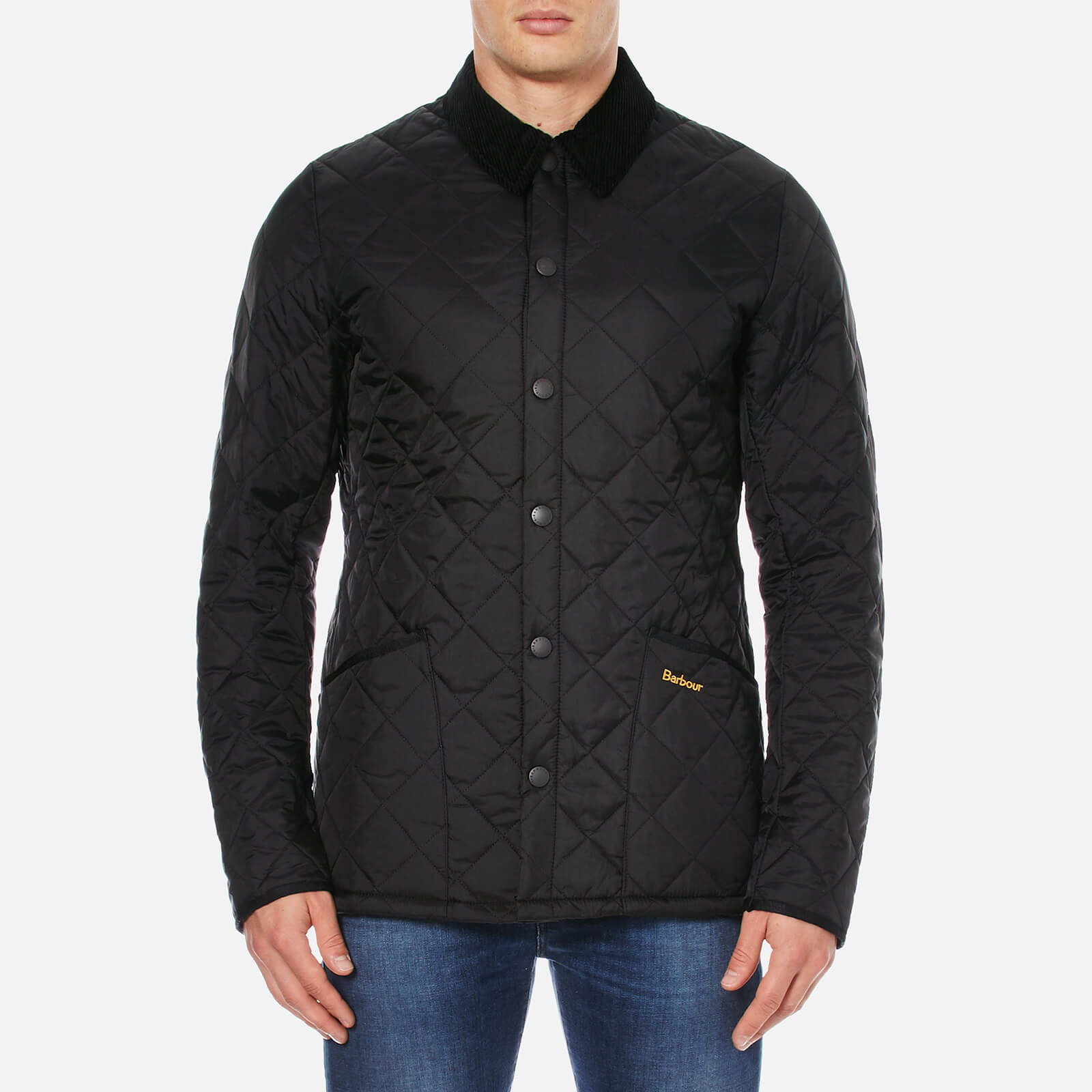 df8425d6911d9 Barbour Men's Heritage Liddesdale Quilt Jacket - Black