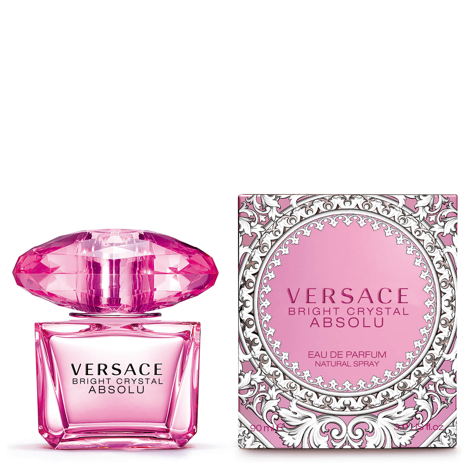 versace bright crystal perfume 90 ml