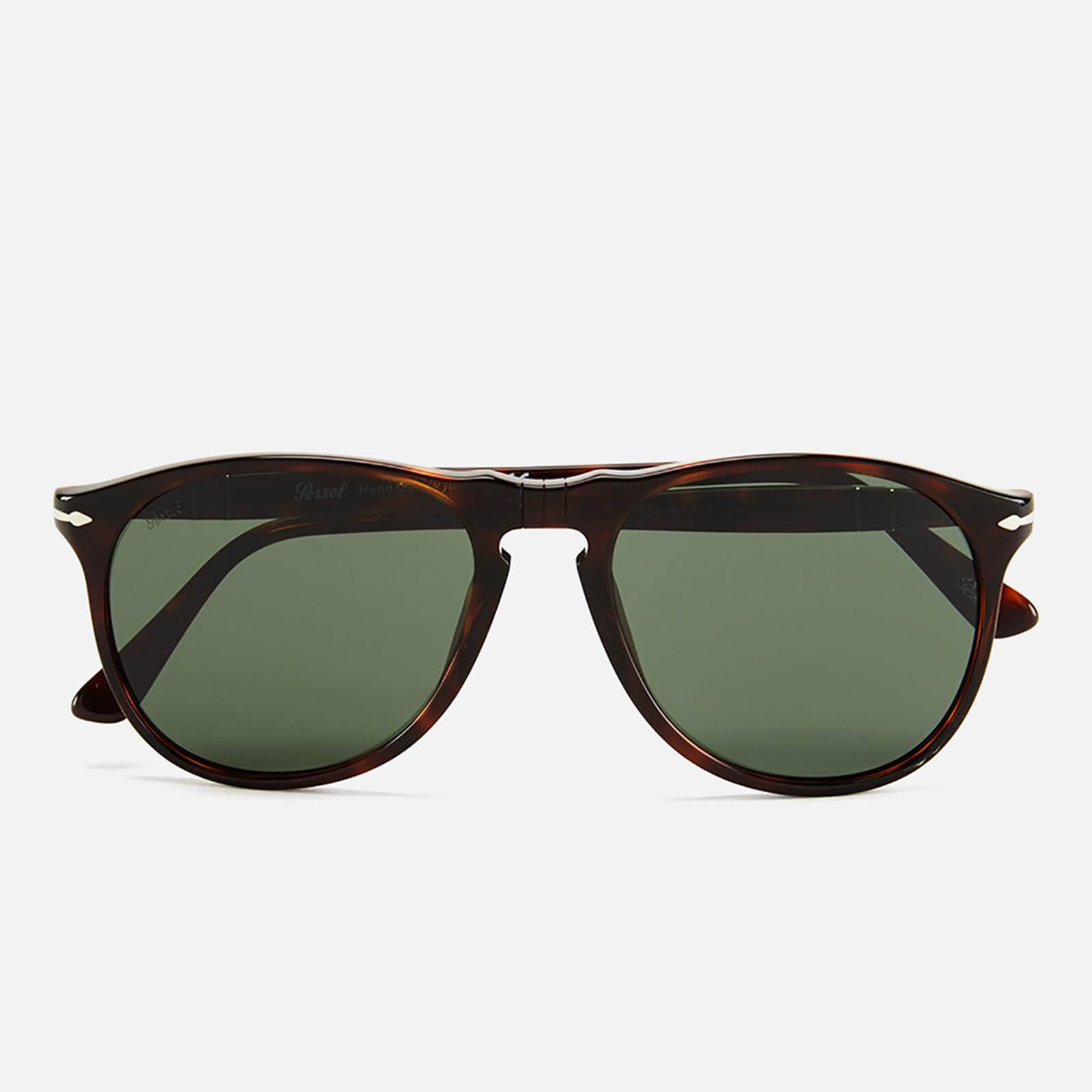 158a62bab3a Persol Thin D-Frame Men s Sunglasses - Havana - Free UK Delivery over £50