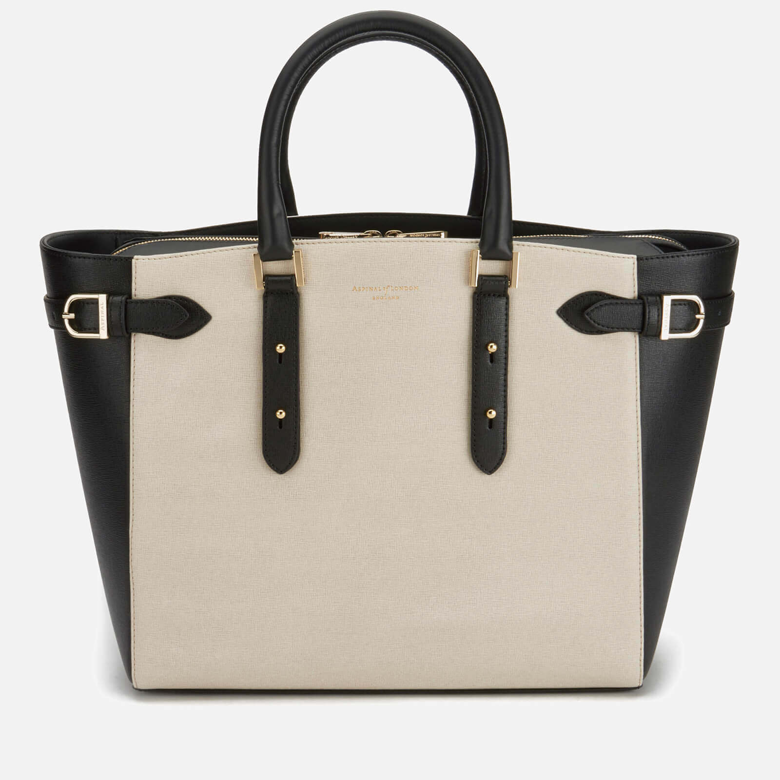 6b748ee558995 Aspinal of London Women s Marylebone Tote Bag - Monochrome - Free UK  Delivery over £50