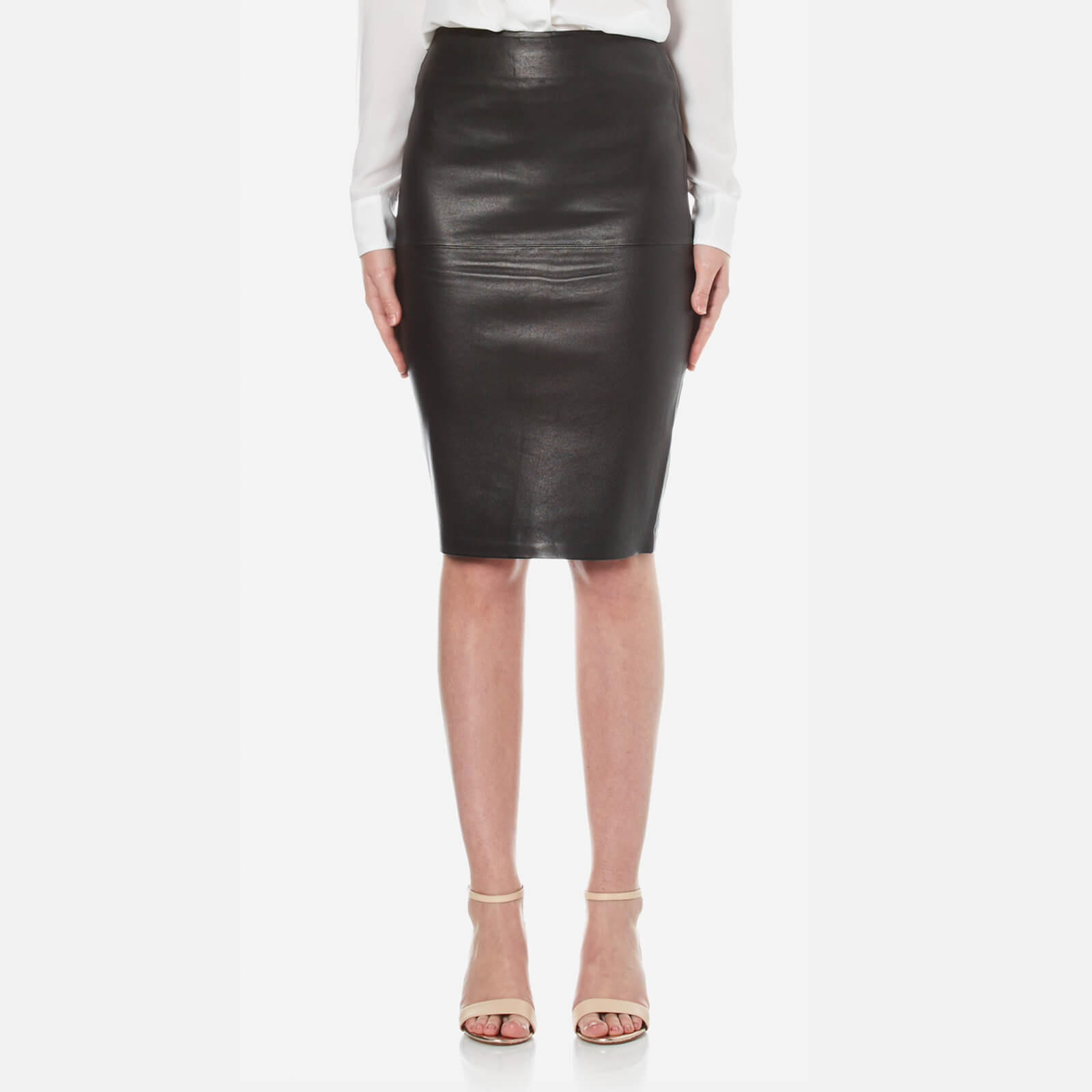 29f91a6350 By Malene Birger Women's Florida Pencil Skirt - Black - Free UK Delivery  over £50