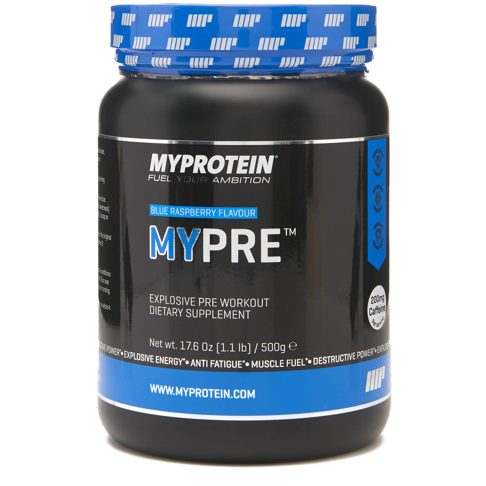 Mypre, Blue Raspberry, 500g
