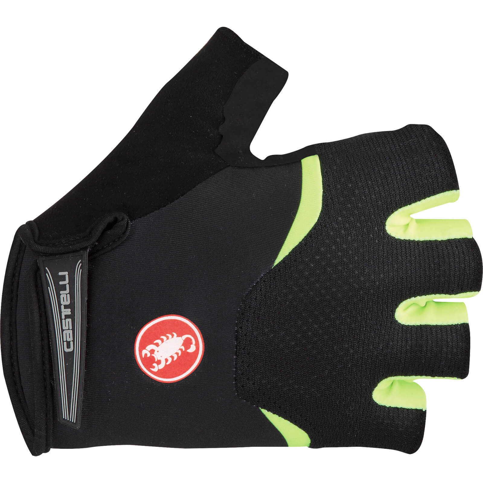 Castelli Arenberg Gel Gloves - Black/Yellow