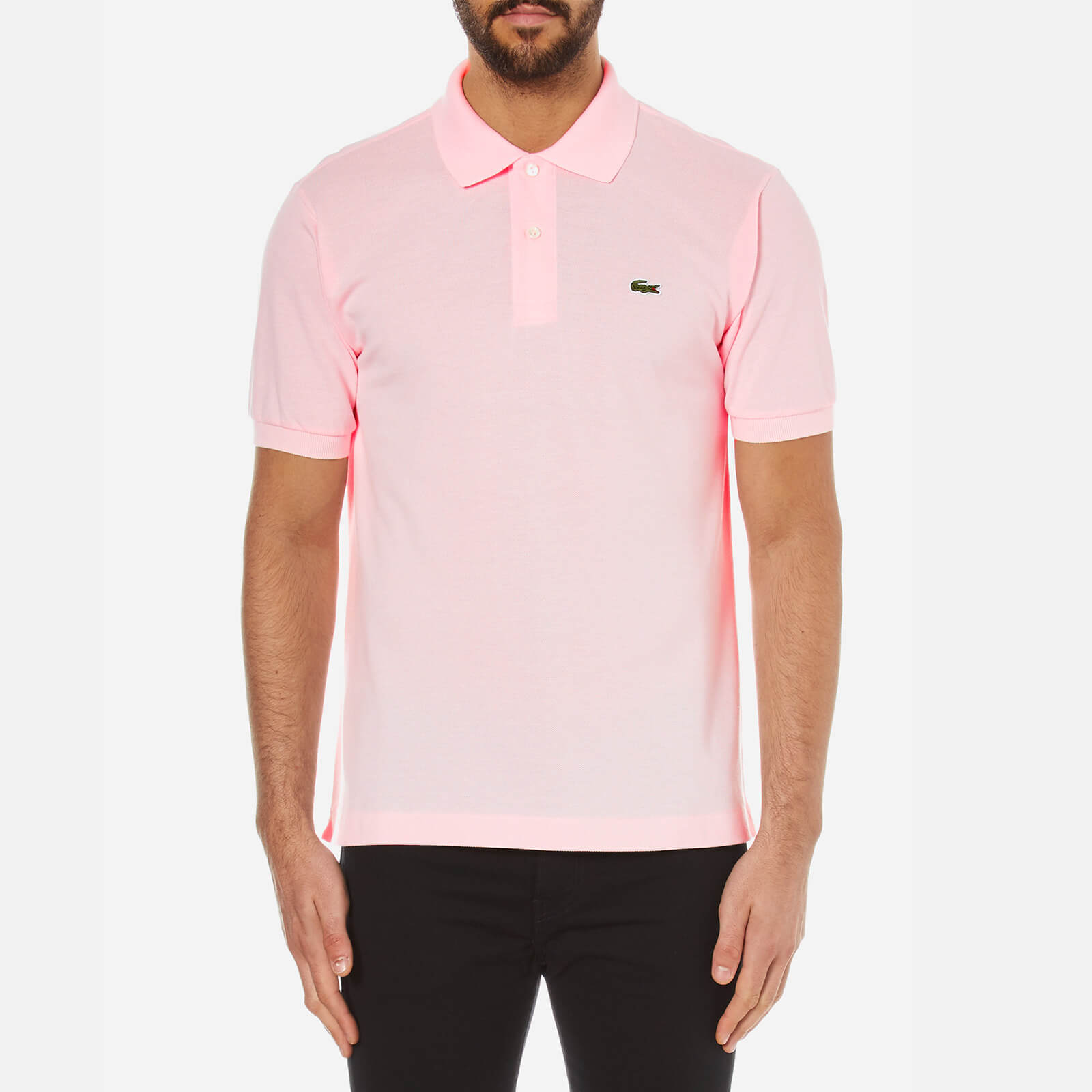 e1d74b27c4 Lacoste Men's Polo Shirt - Flamingo - Free UK Delivery over £50