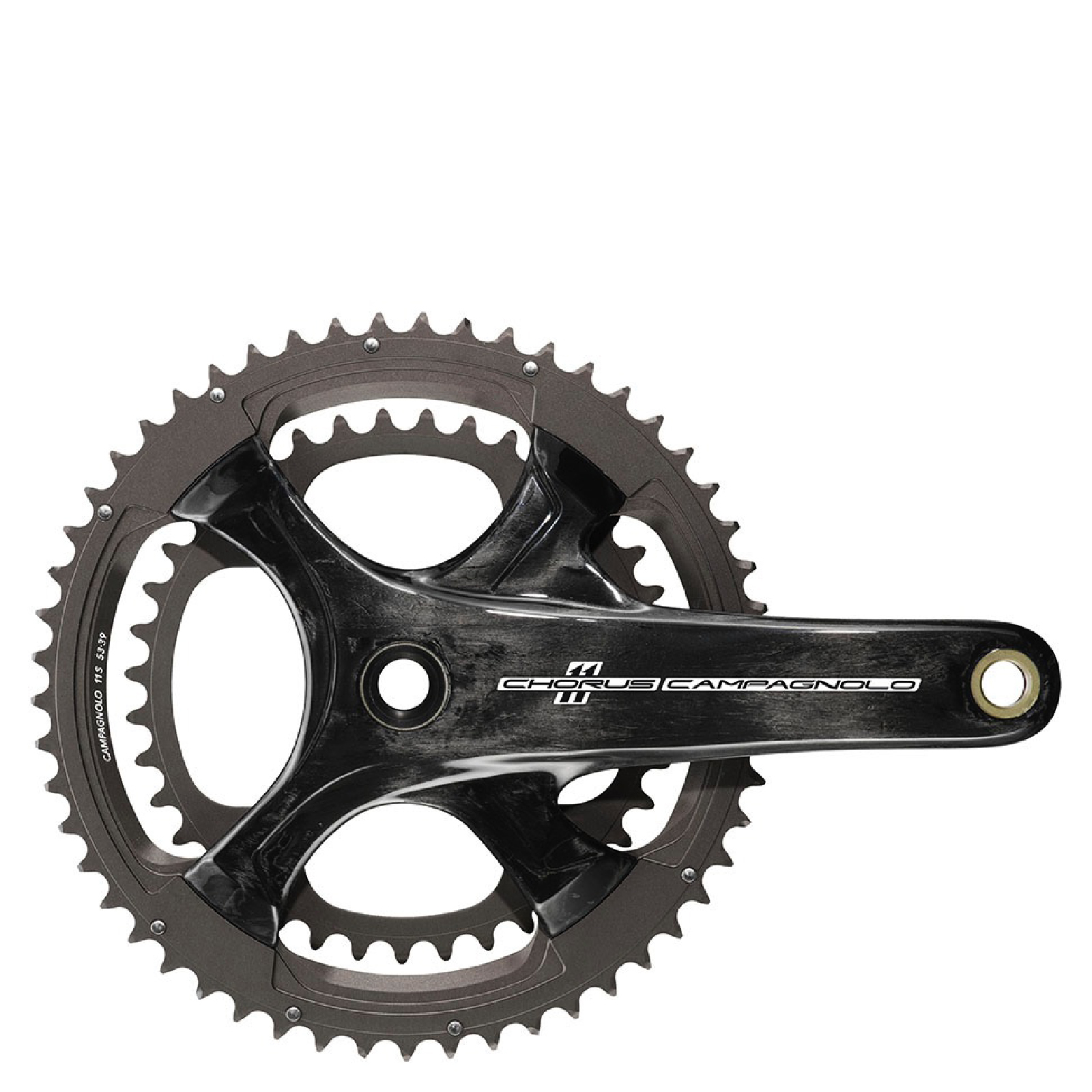 Campagnolo Chorus 11 Speed Ultra Torque Carbon Chainset - Black
